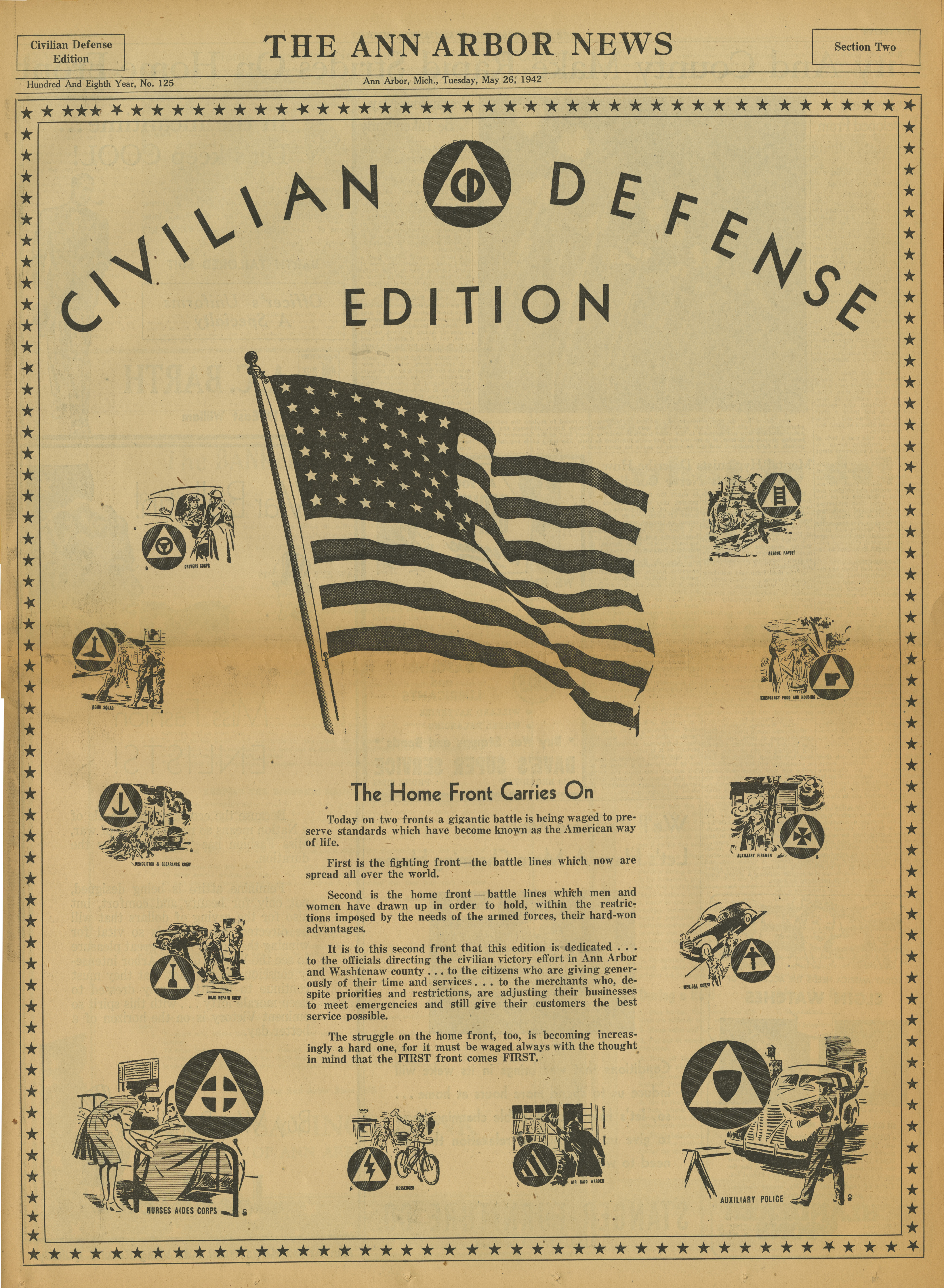 Civilian Defense Edition - Front Page image