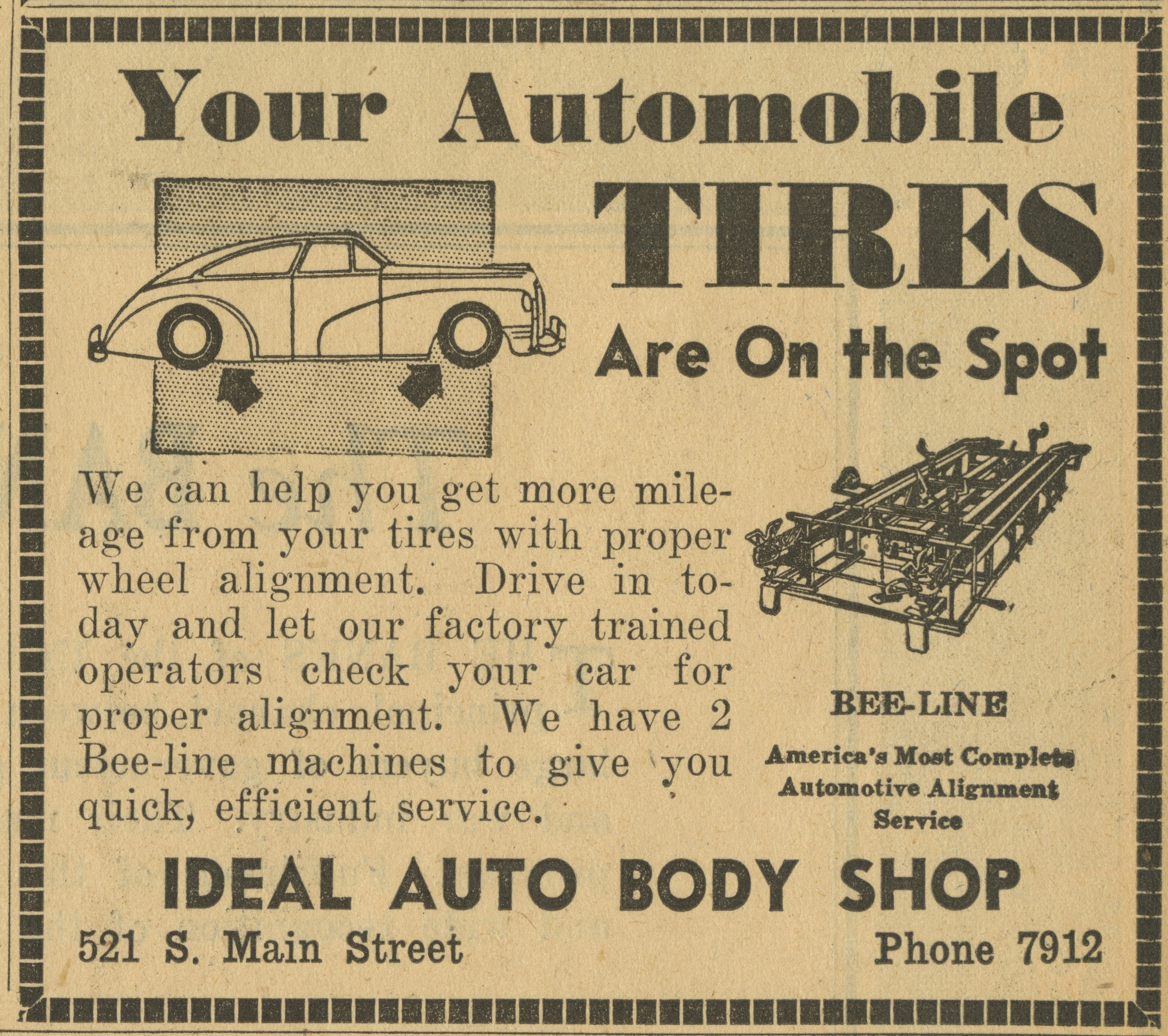 Ideal Auto Body Shop [advertisement] image