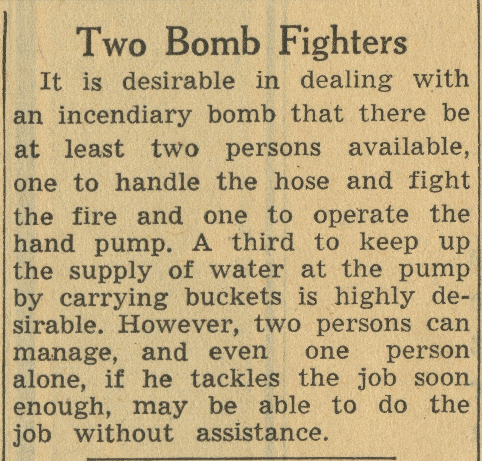 Two Bomb Fighters image
