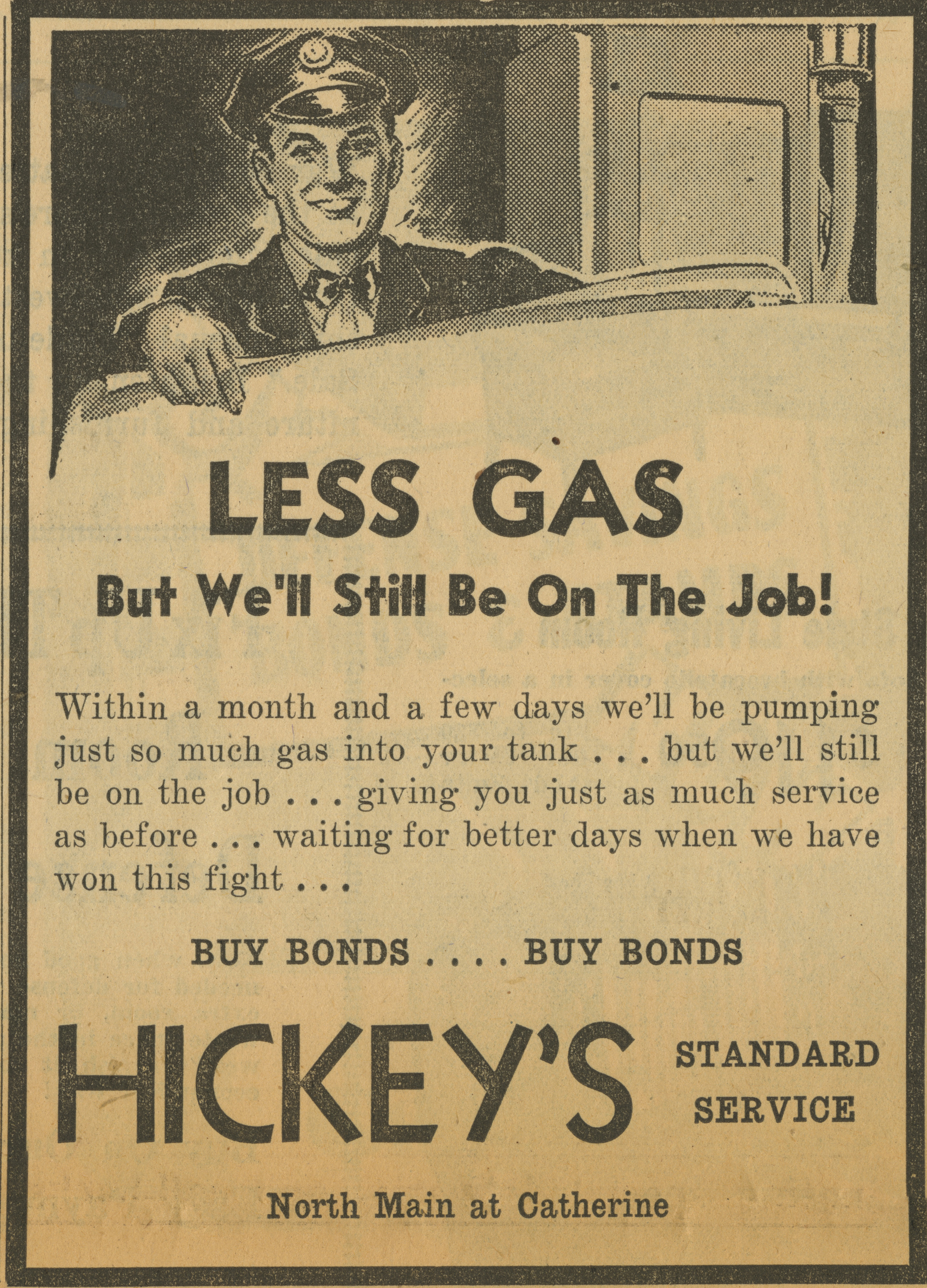 Hickey's Standard Service [advertisement] image
