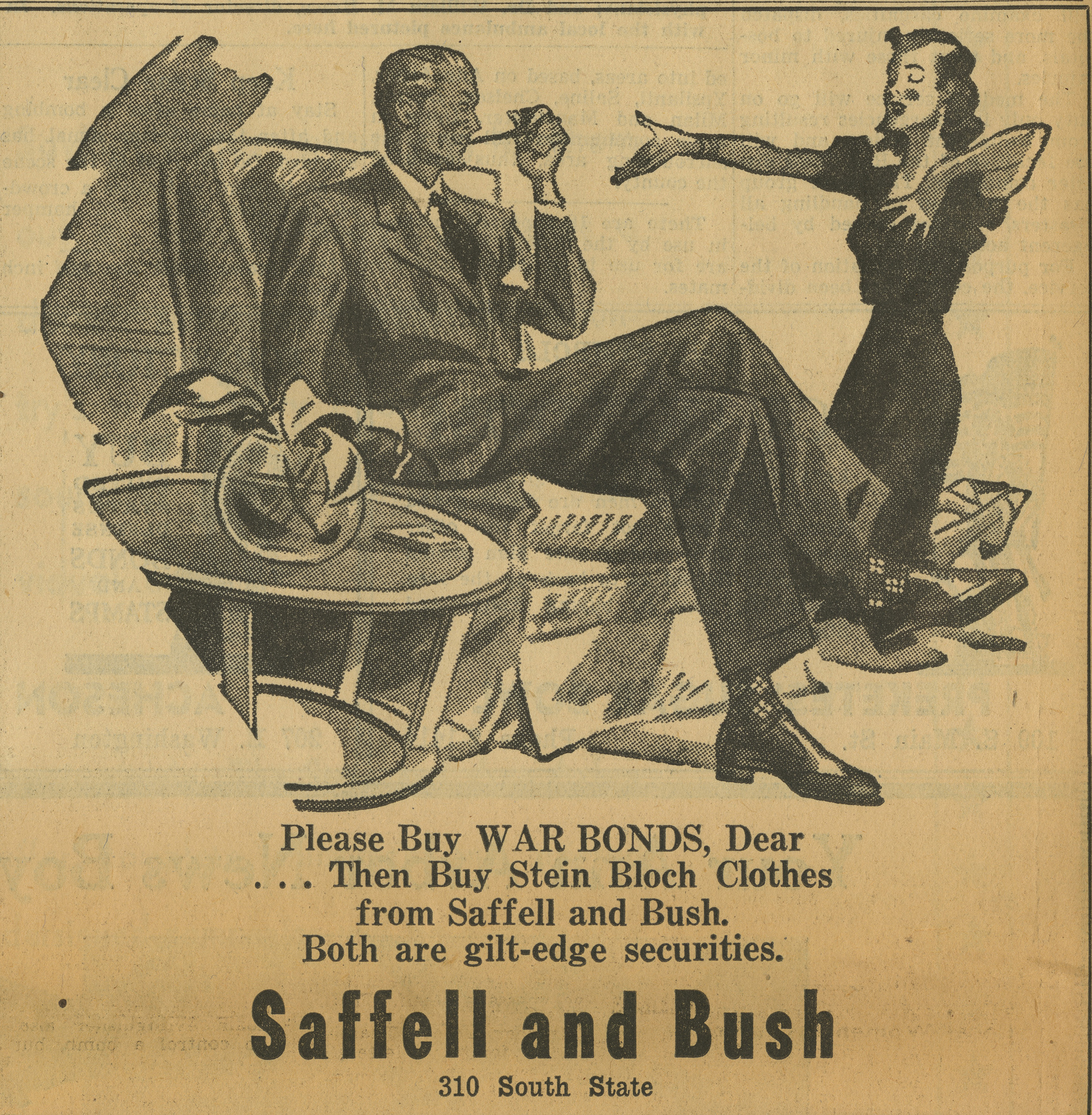 Saffell and Bush [advertisement] image