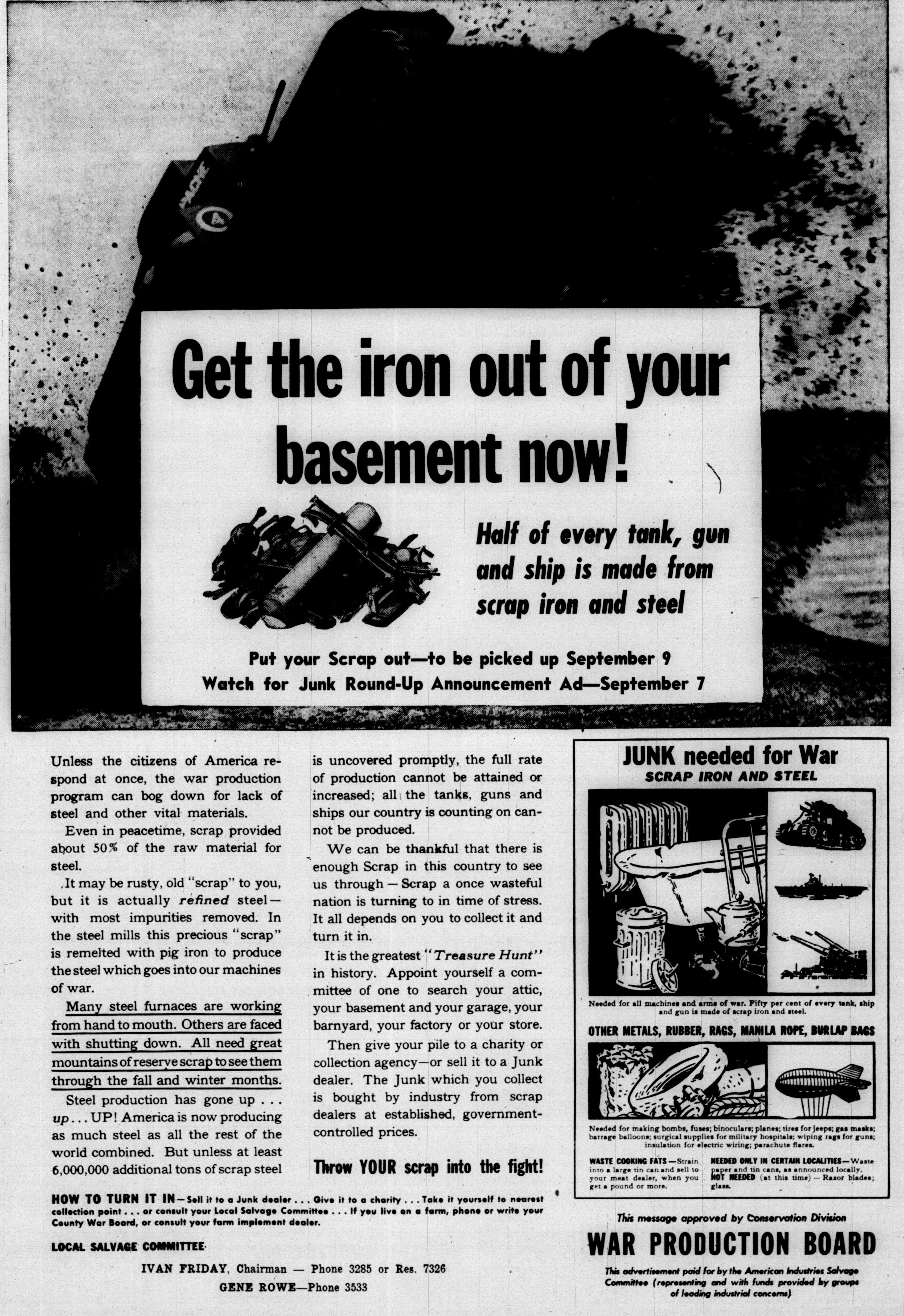Get The Iron Out Of Your Basement Now Ann Arbor District Library Wiring Insulation