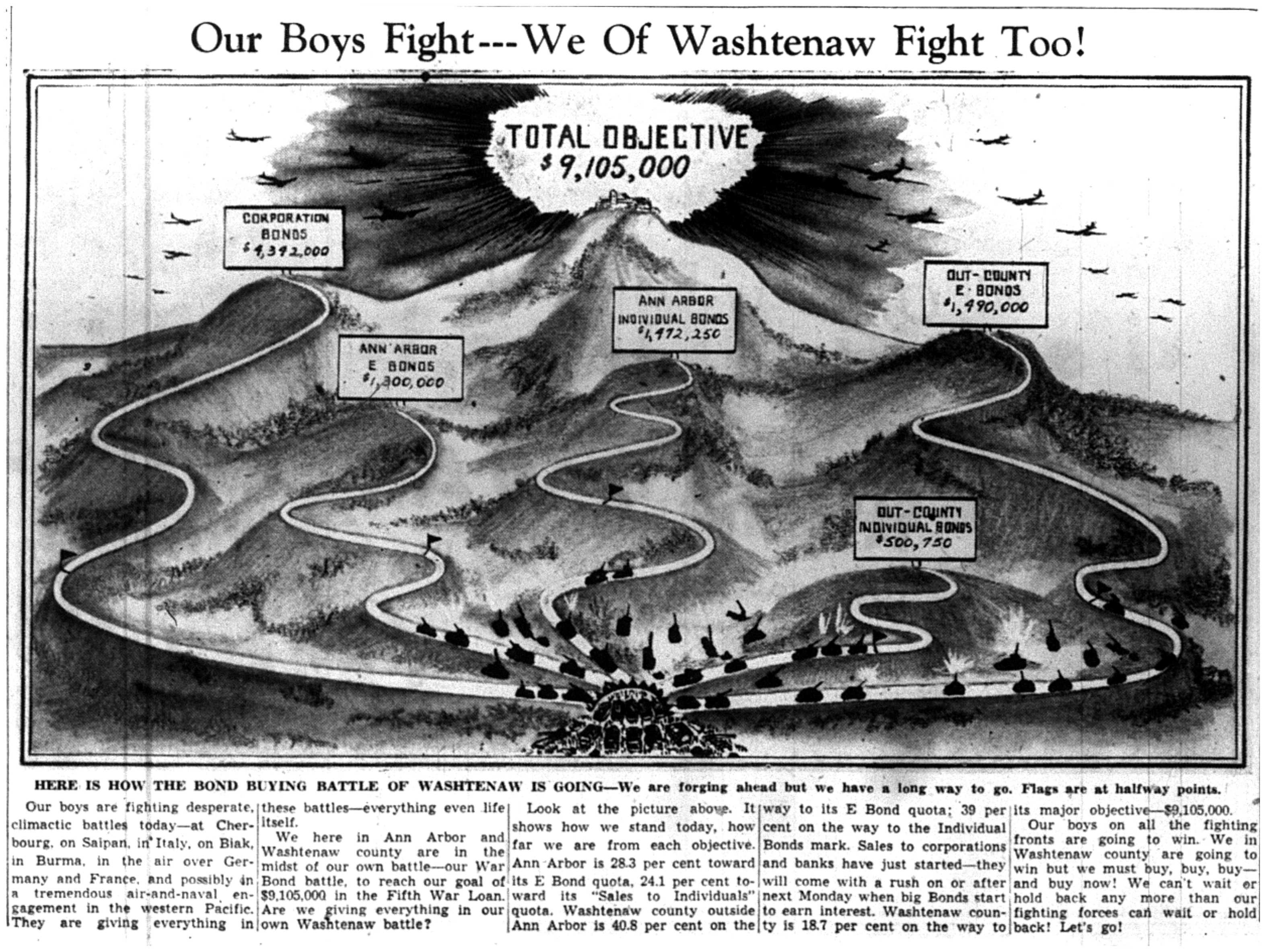 Our Boys Fight - We Of Washtenaw Fight Too image