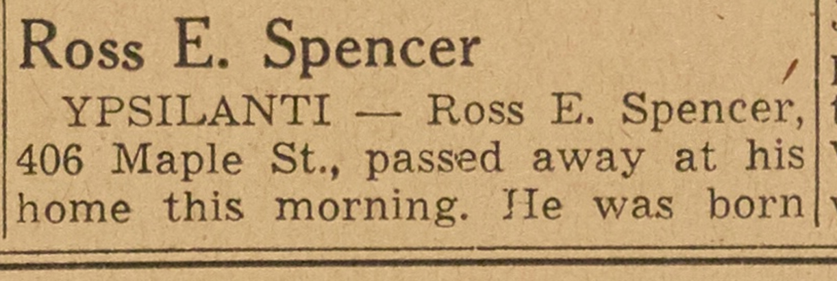 Ross E. Spencer image