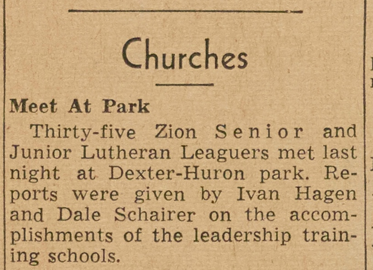 Churches - Meet At Park image