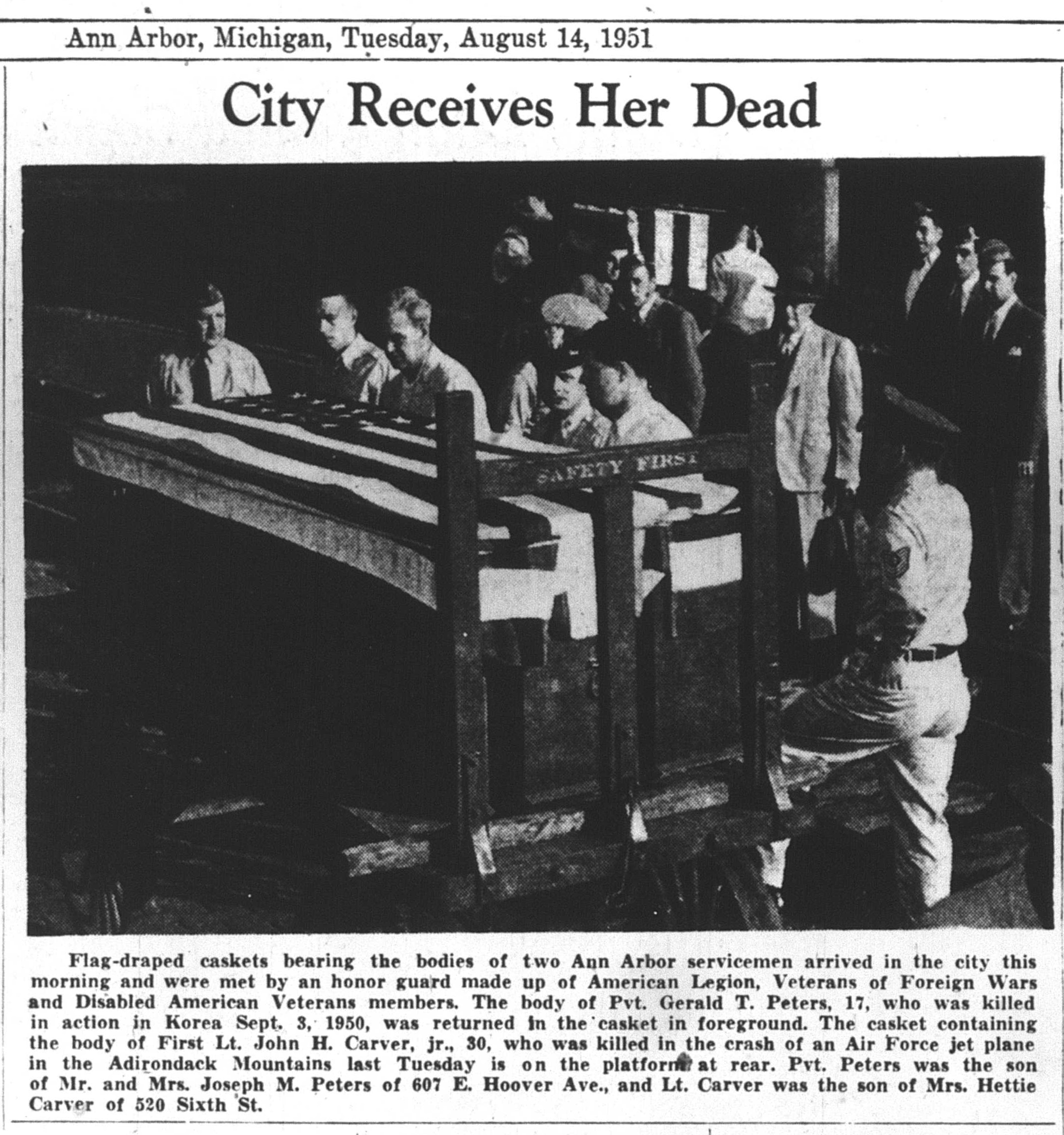 City Receives Her Dead image