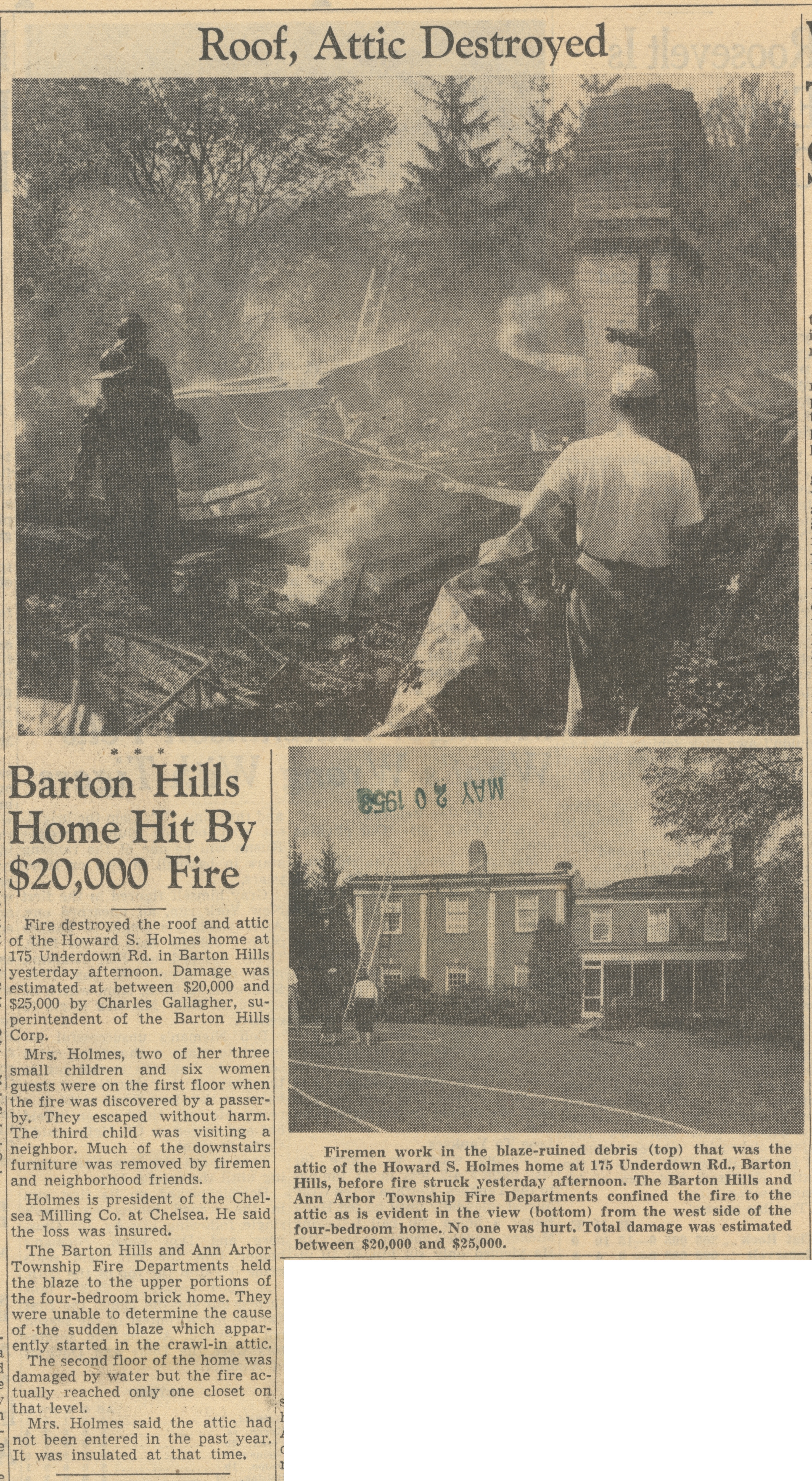 Barton Hills Home Hit By $20,000 Fire image
