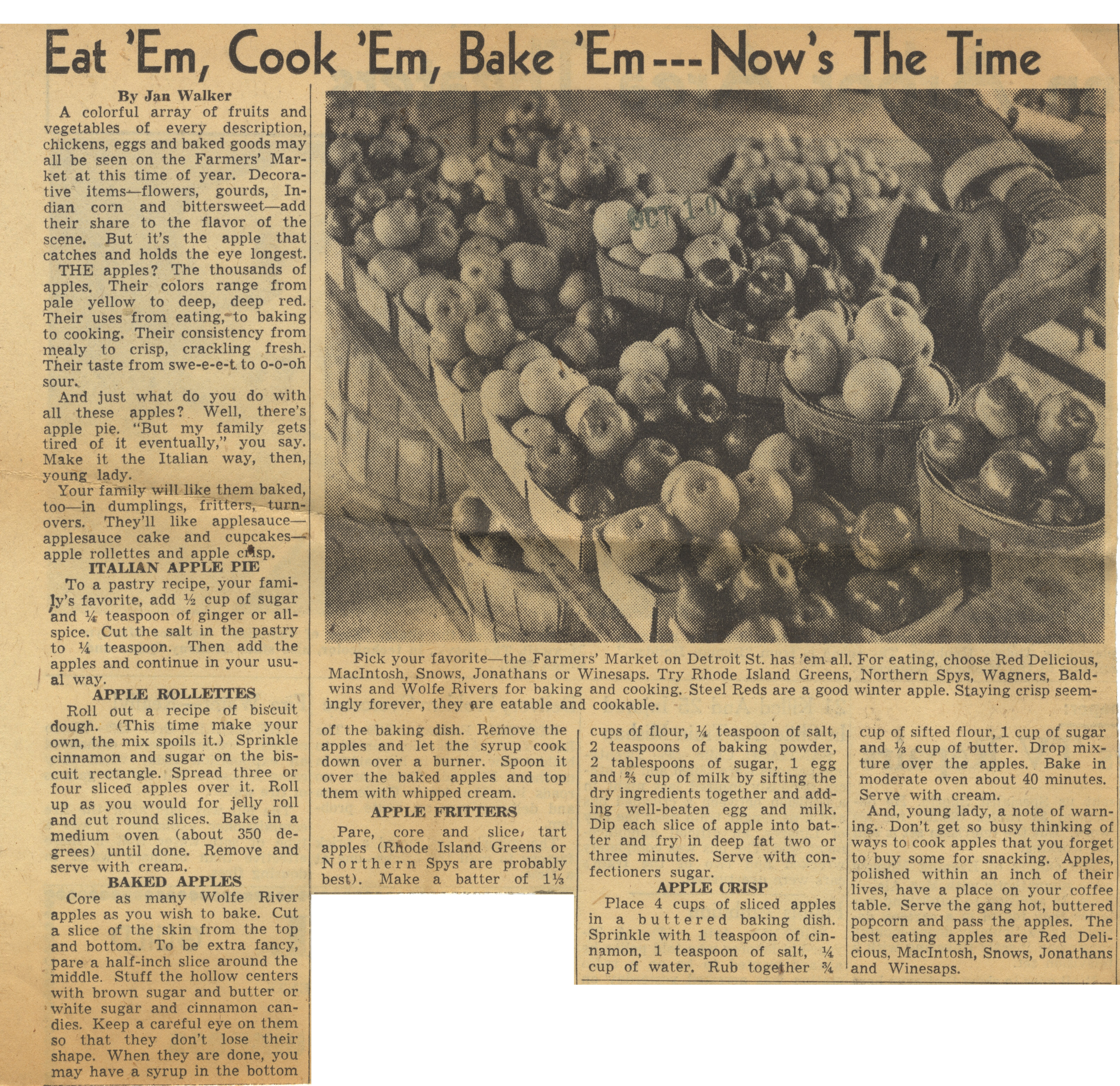 Eat 'Em, Cook 'Em, Bake 'Em - Now's The Time image