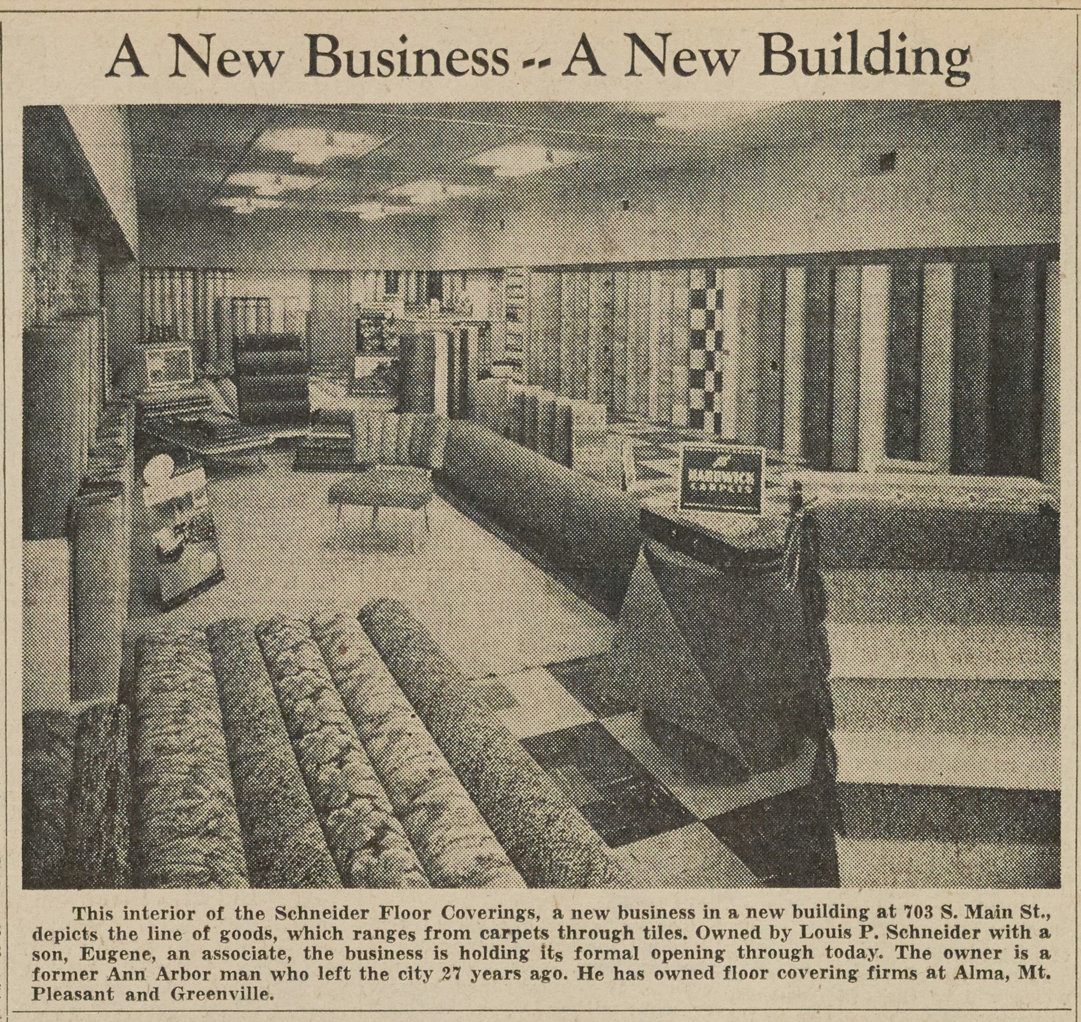 A New Business - - A New Building image