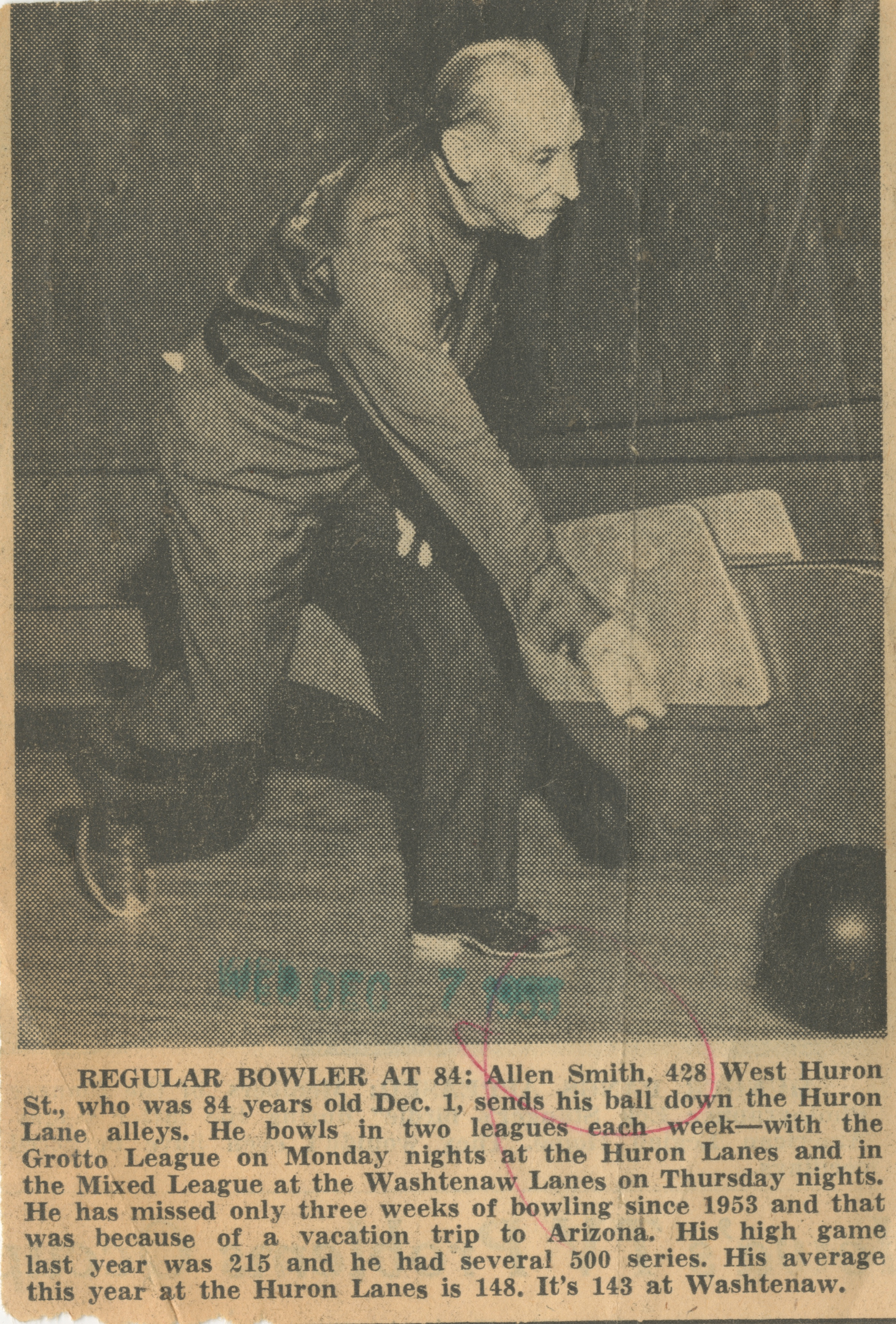 Regular Bowler At 84 image