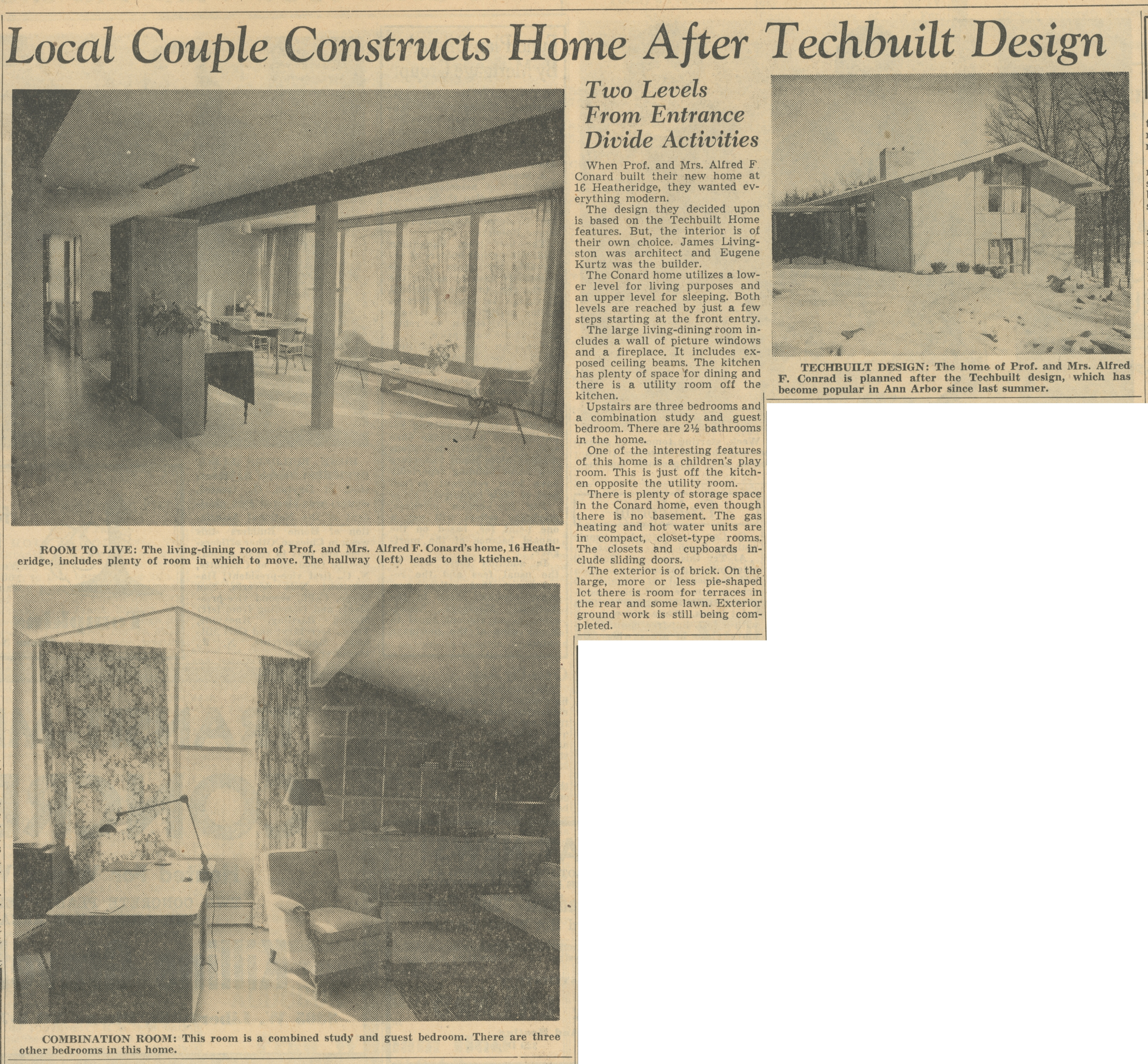 Local Couple Constructs Home After Techbuilt Design image