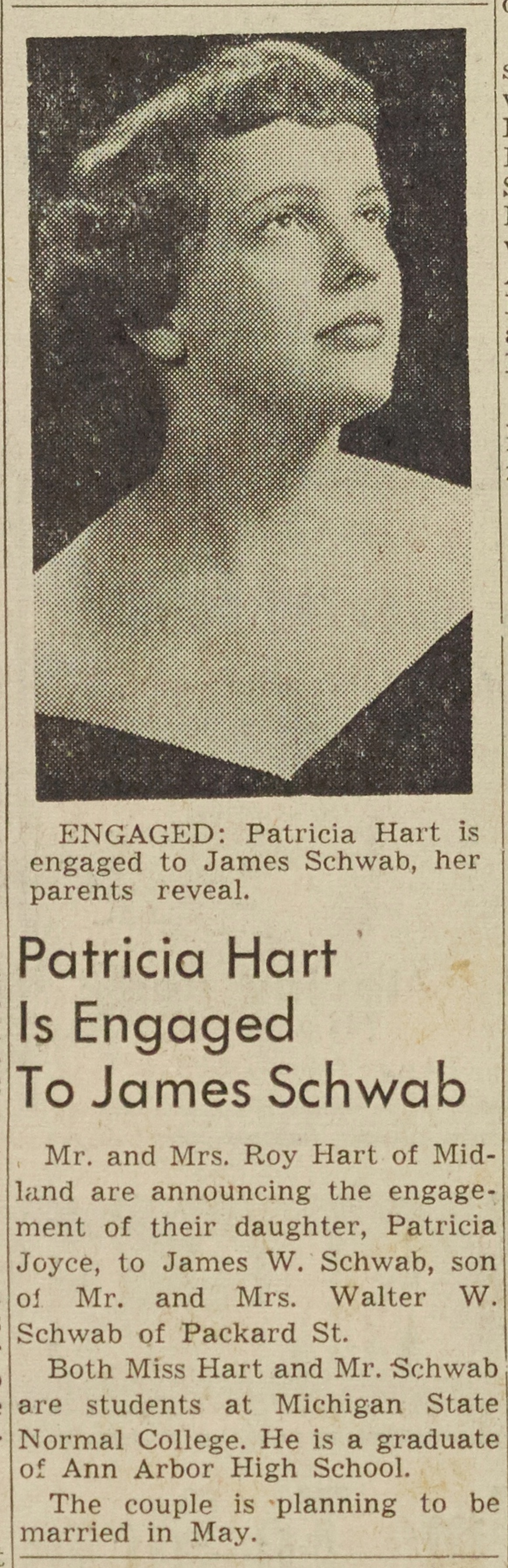 Patricia Hart Is Engaged To James Schwab image