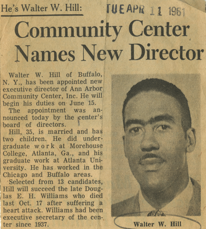 Community Center Names New Director image