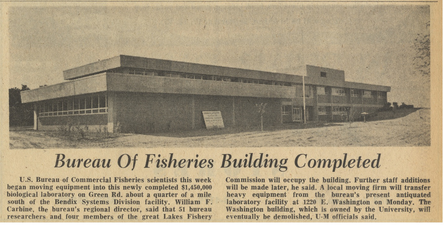 Bureau Of Fisheries Building Completed image