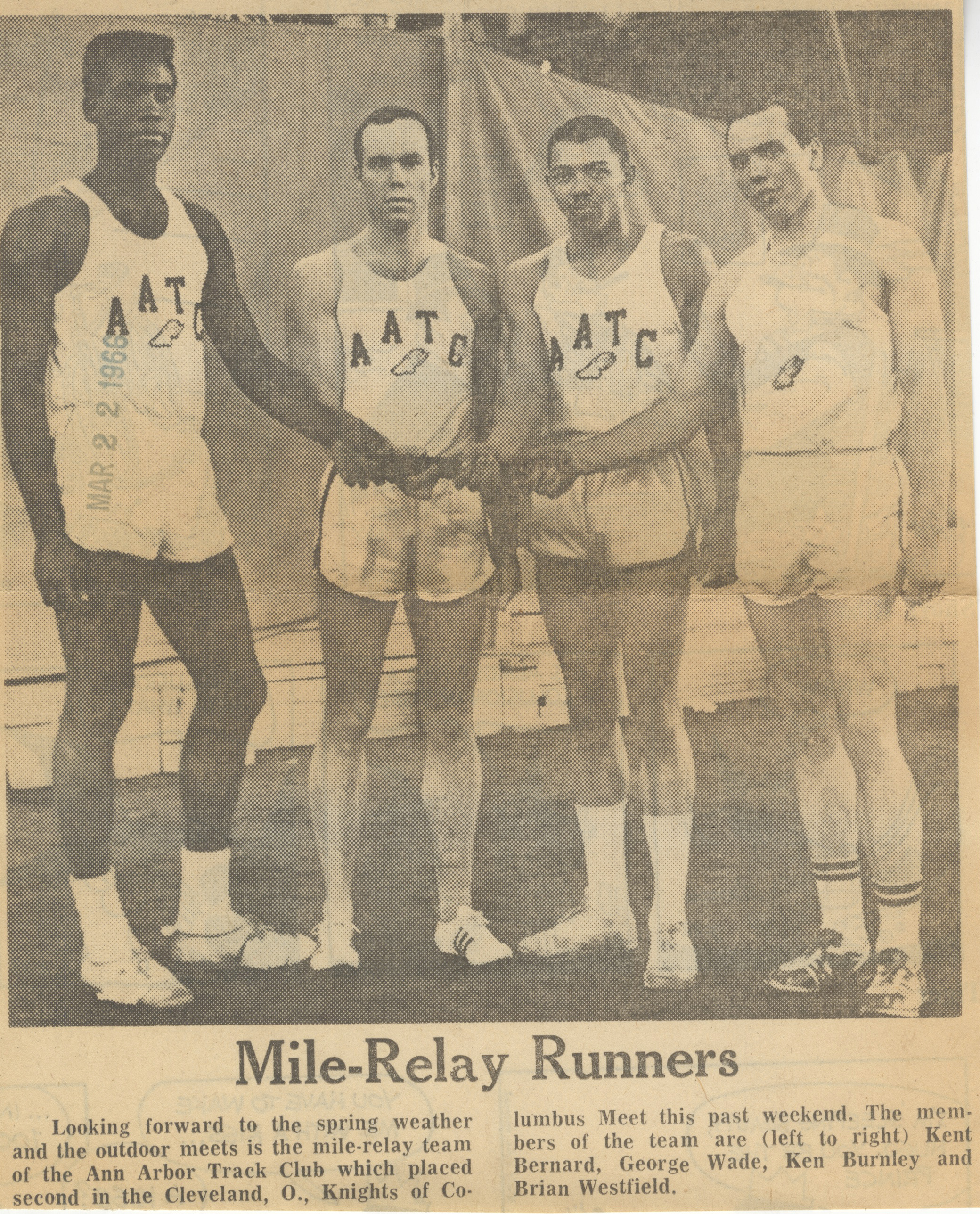 Mile-Relay Runners image