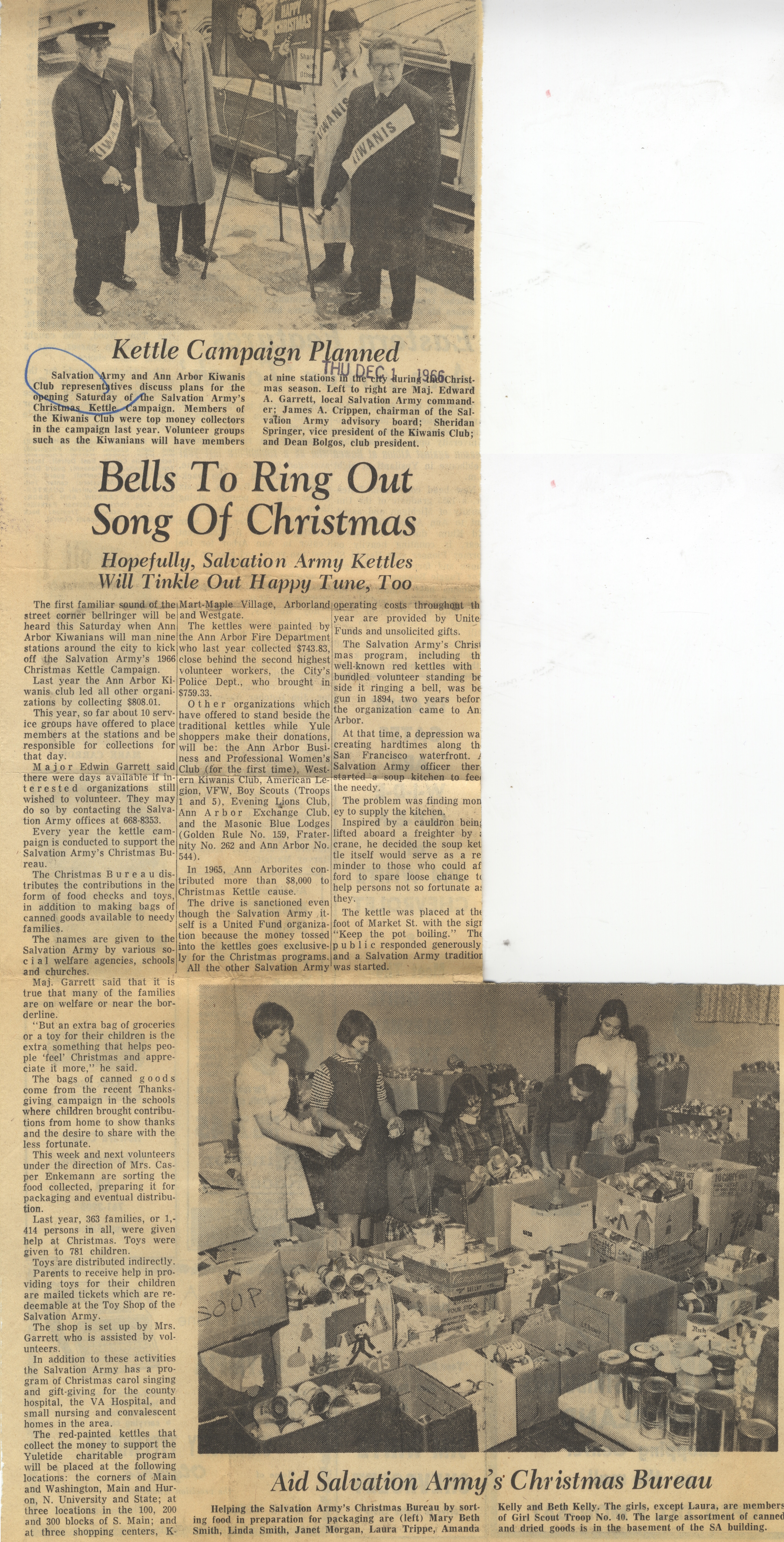 Bells To Ring Out Song Of Christmas image