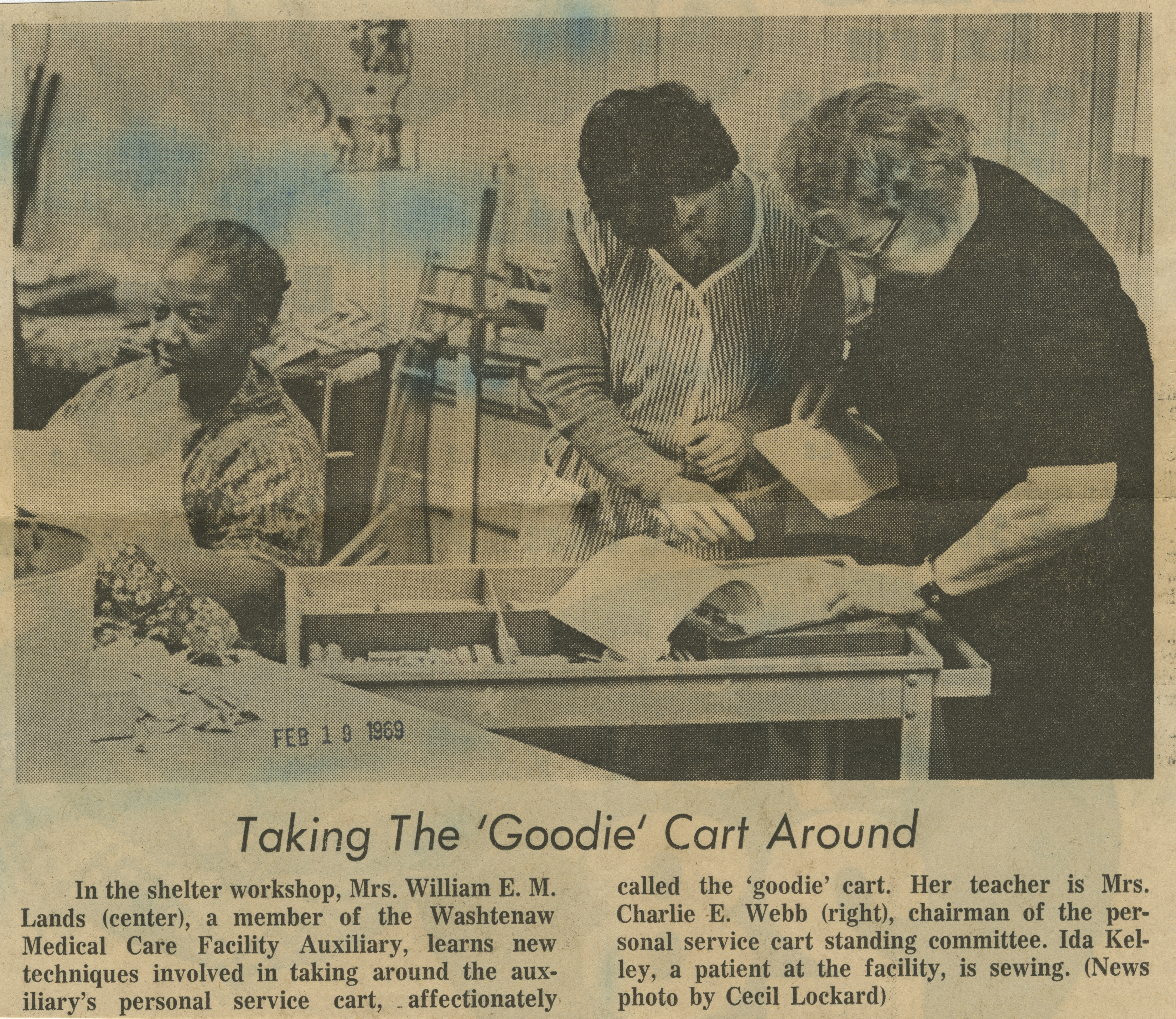 Taking The 'Goodie' Cart Around image