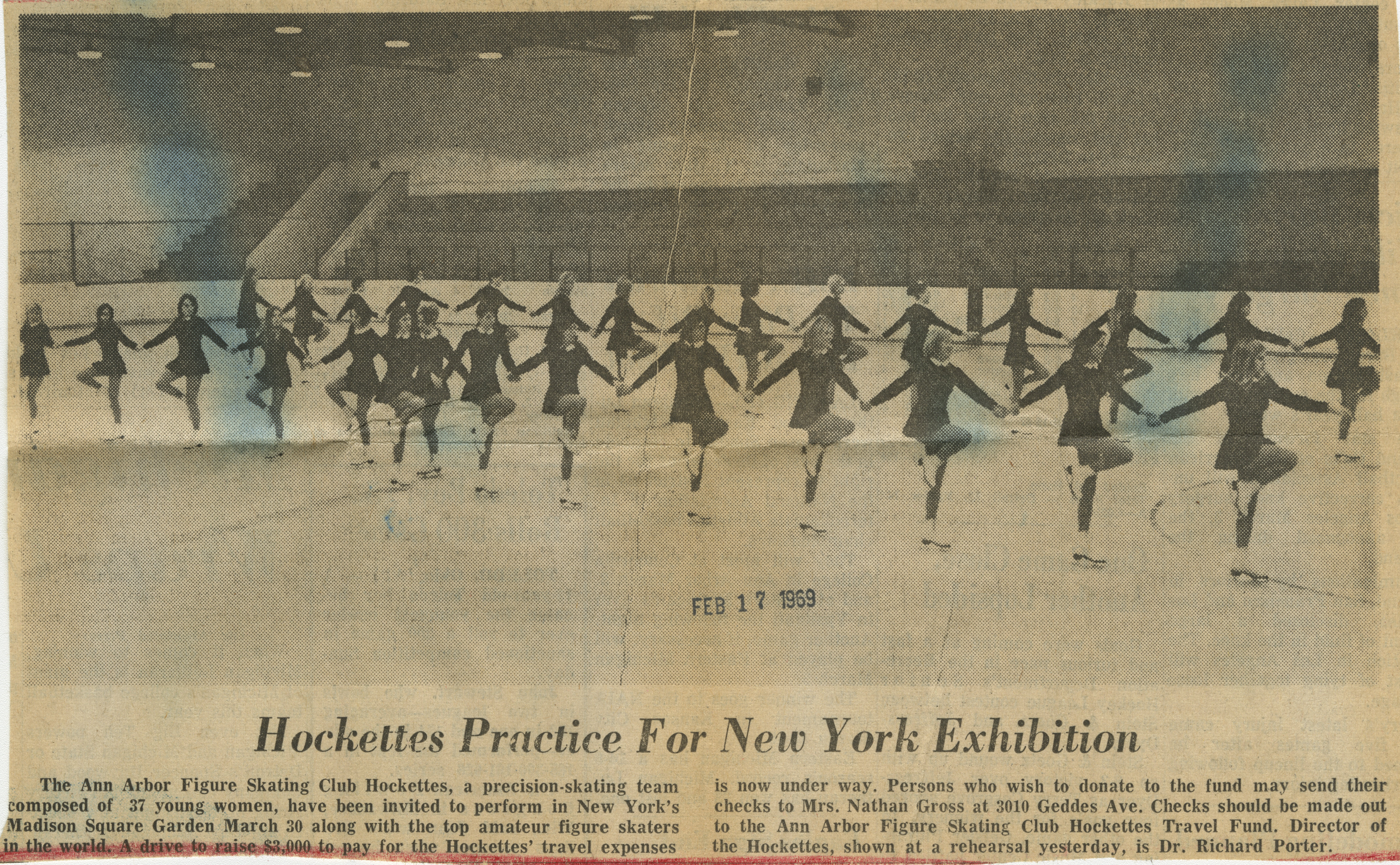 Hockettes Practice For New York Exhibition image