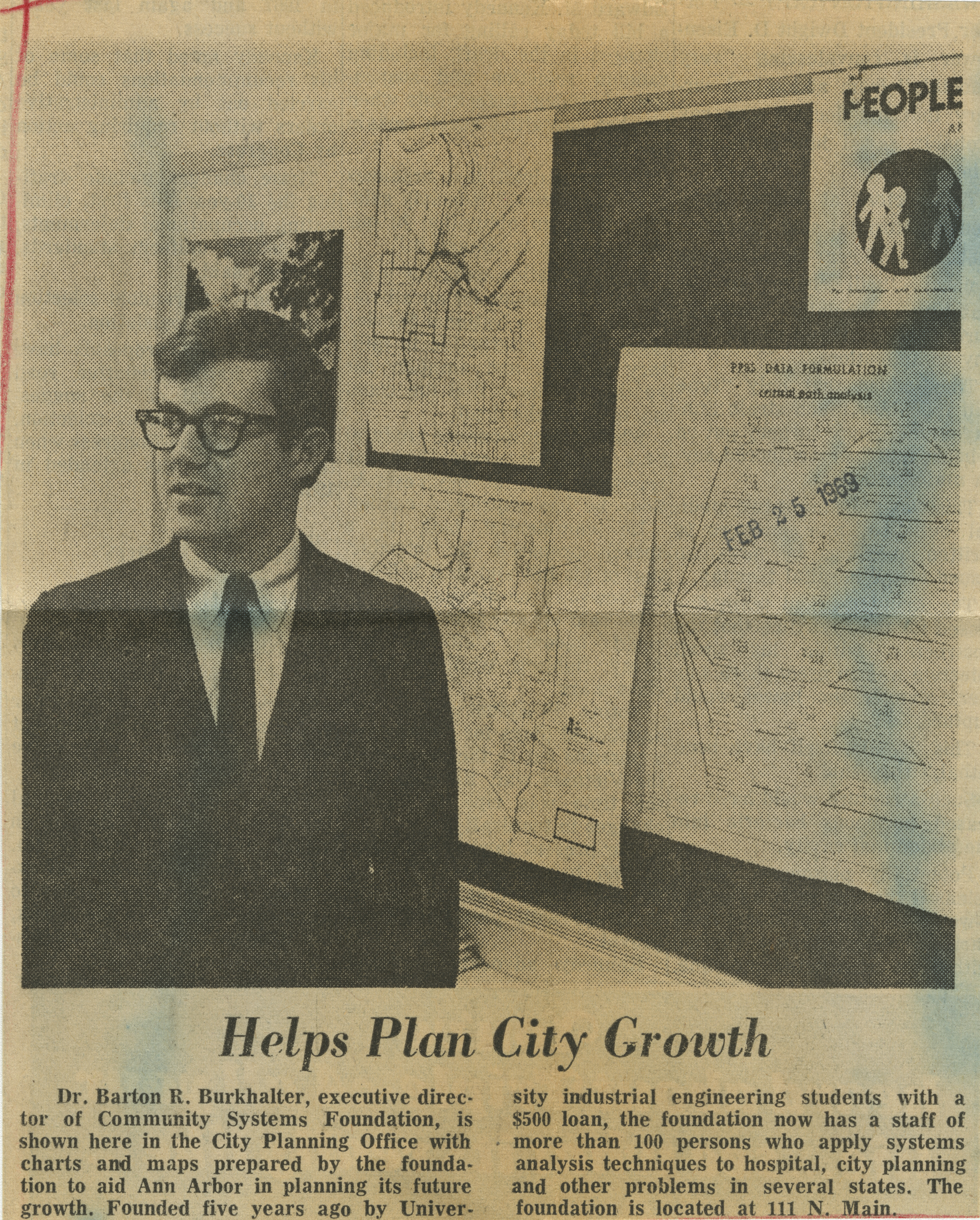 Helps Plan City Growth image