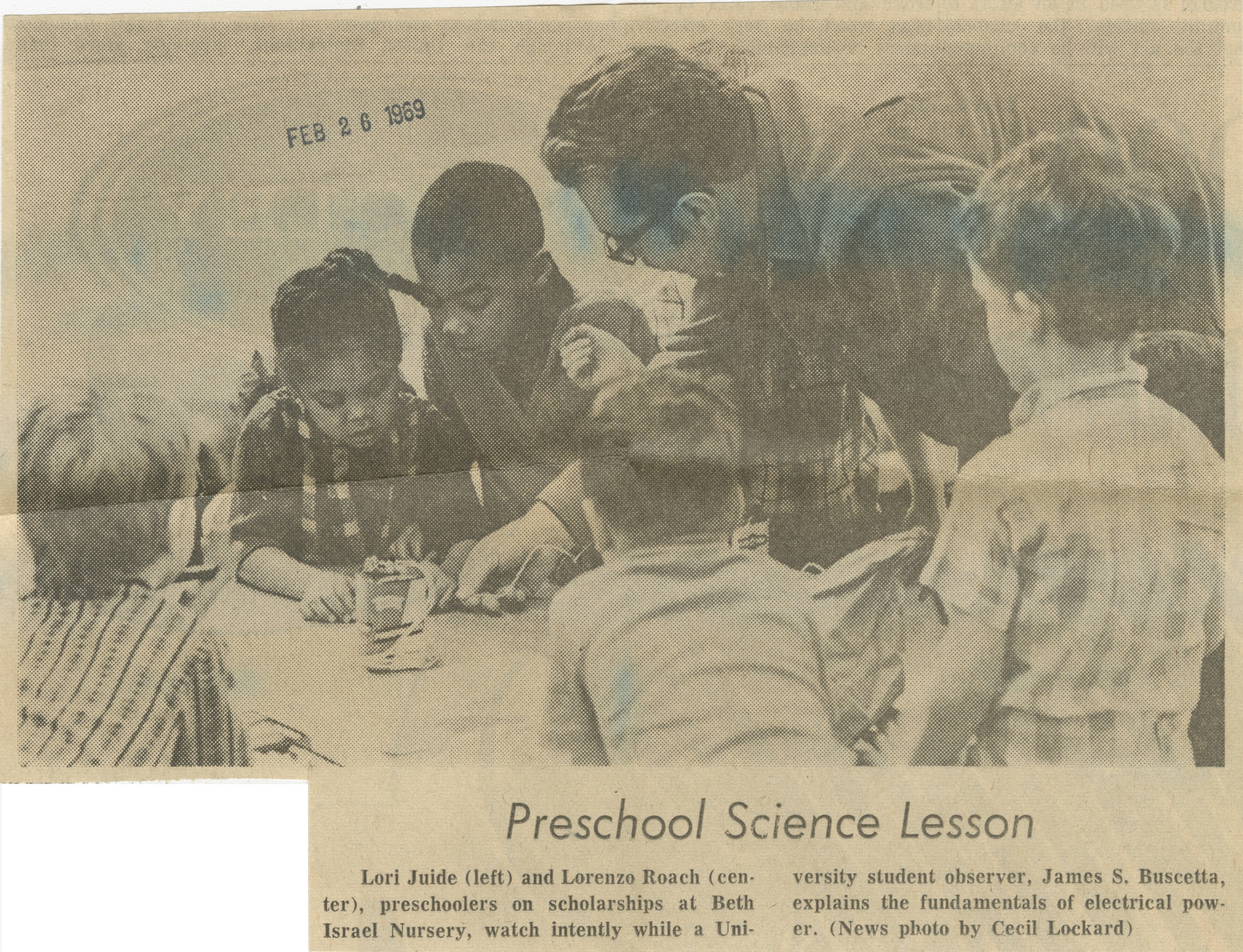 Preschool Science Lesson image