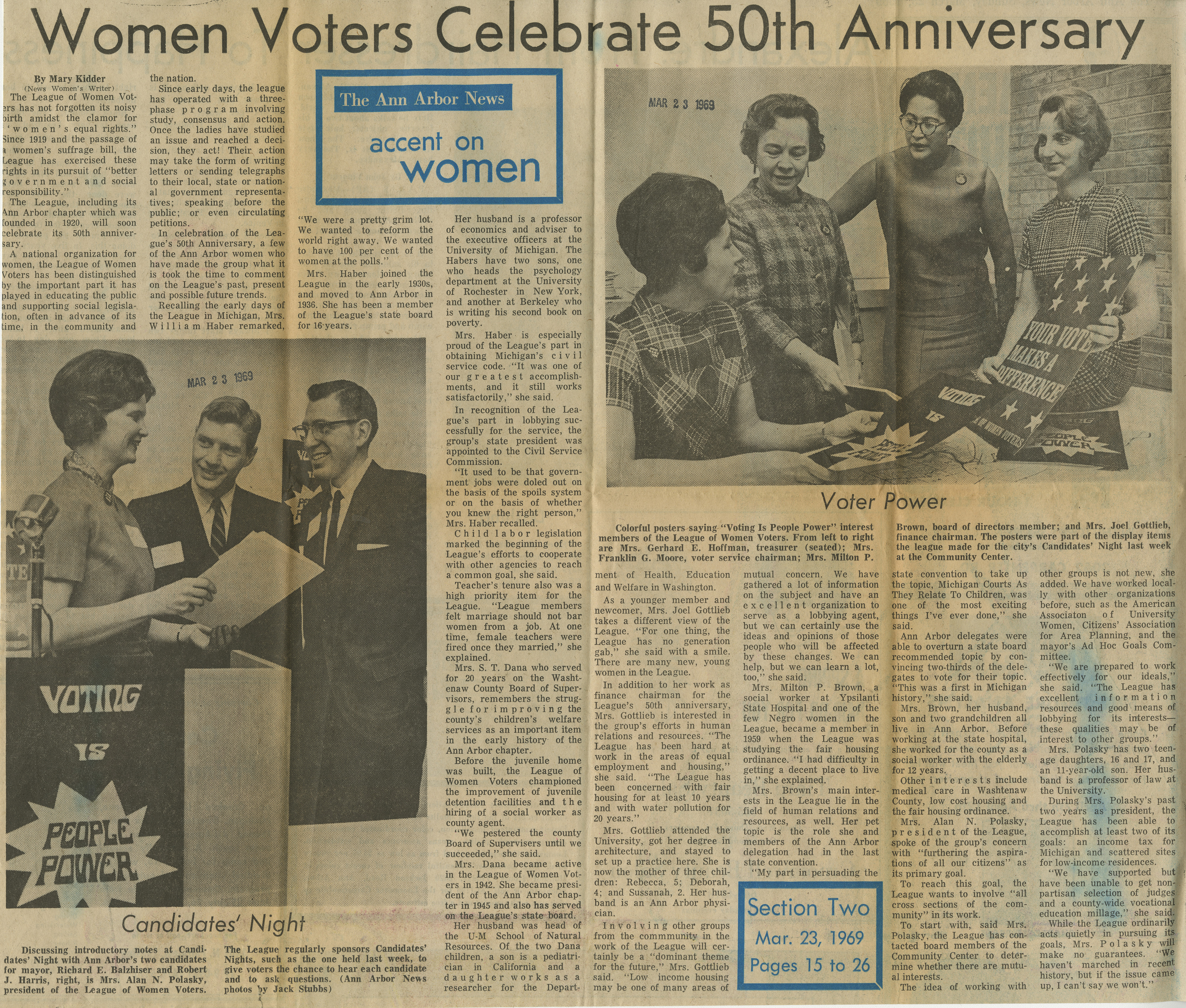 Women Voters Celebrate 50th Anniversary image