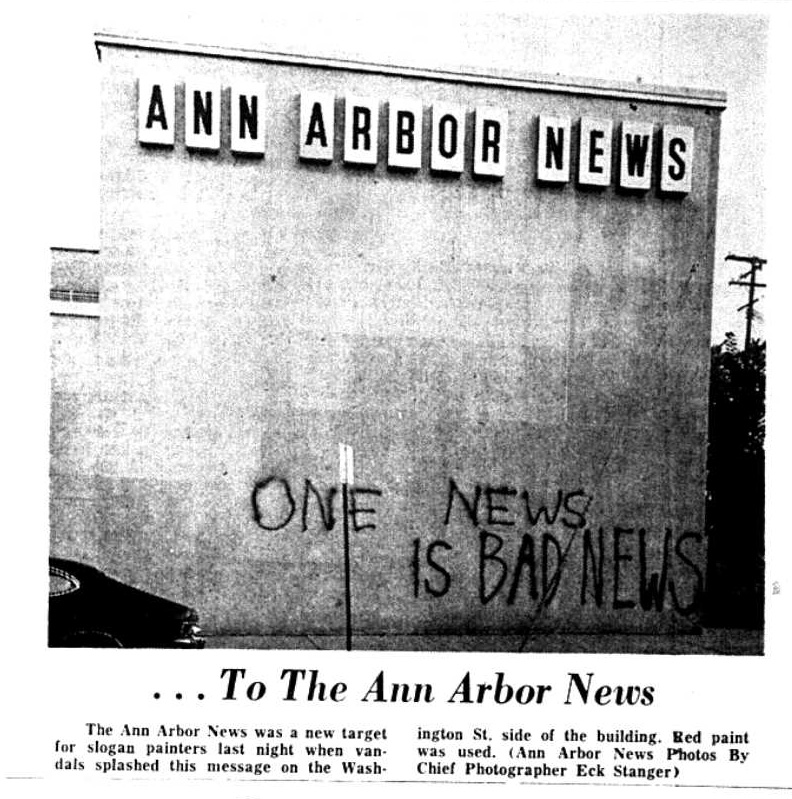...To The Ann Arbor News image