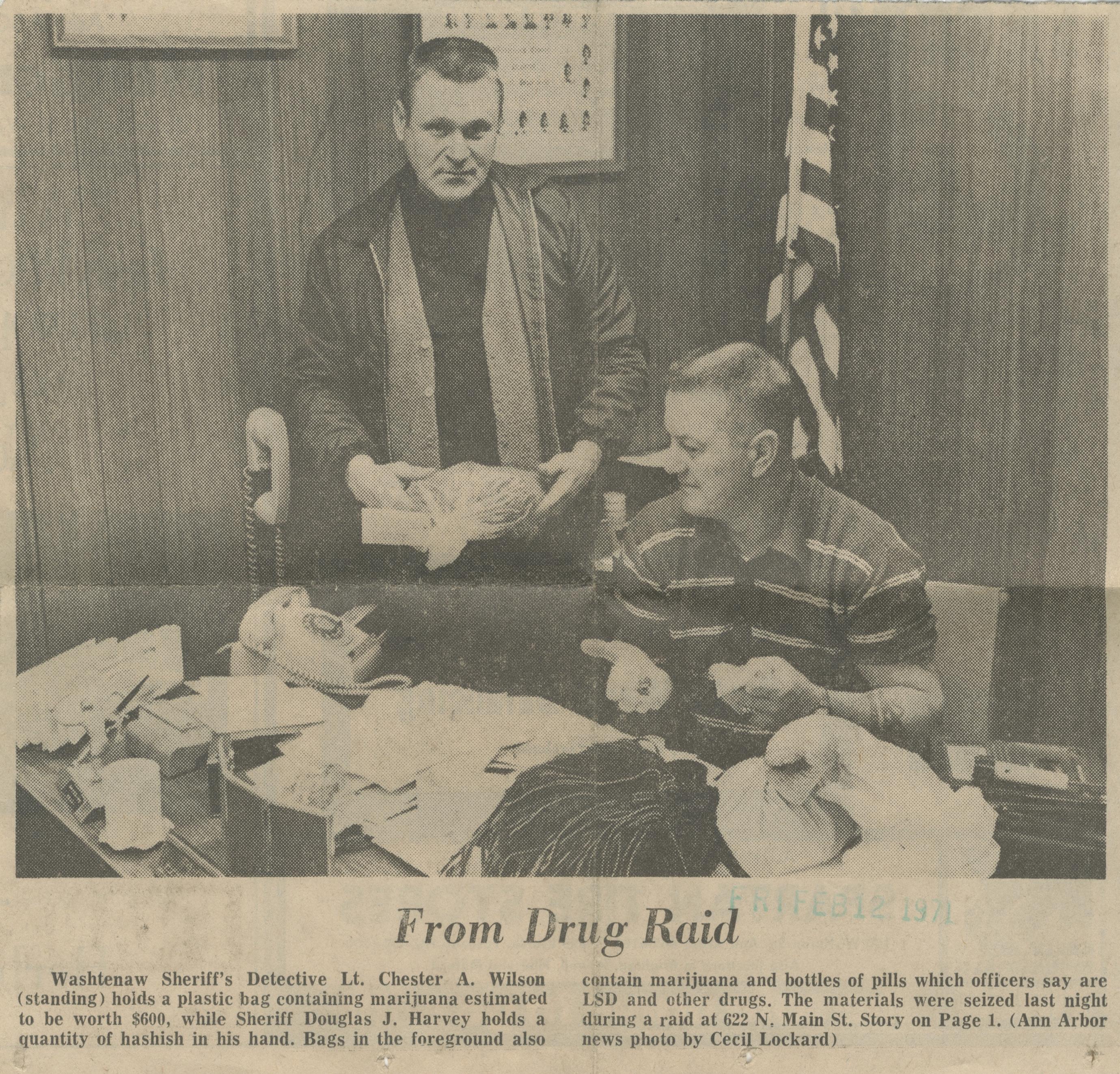 Wayne, Washtenaw Deputies Stage Drug Raid In City | Ann Arbor