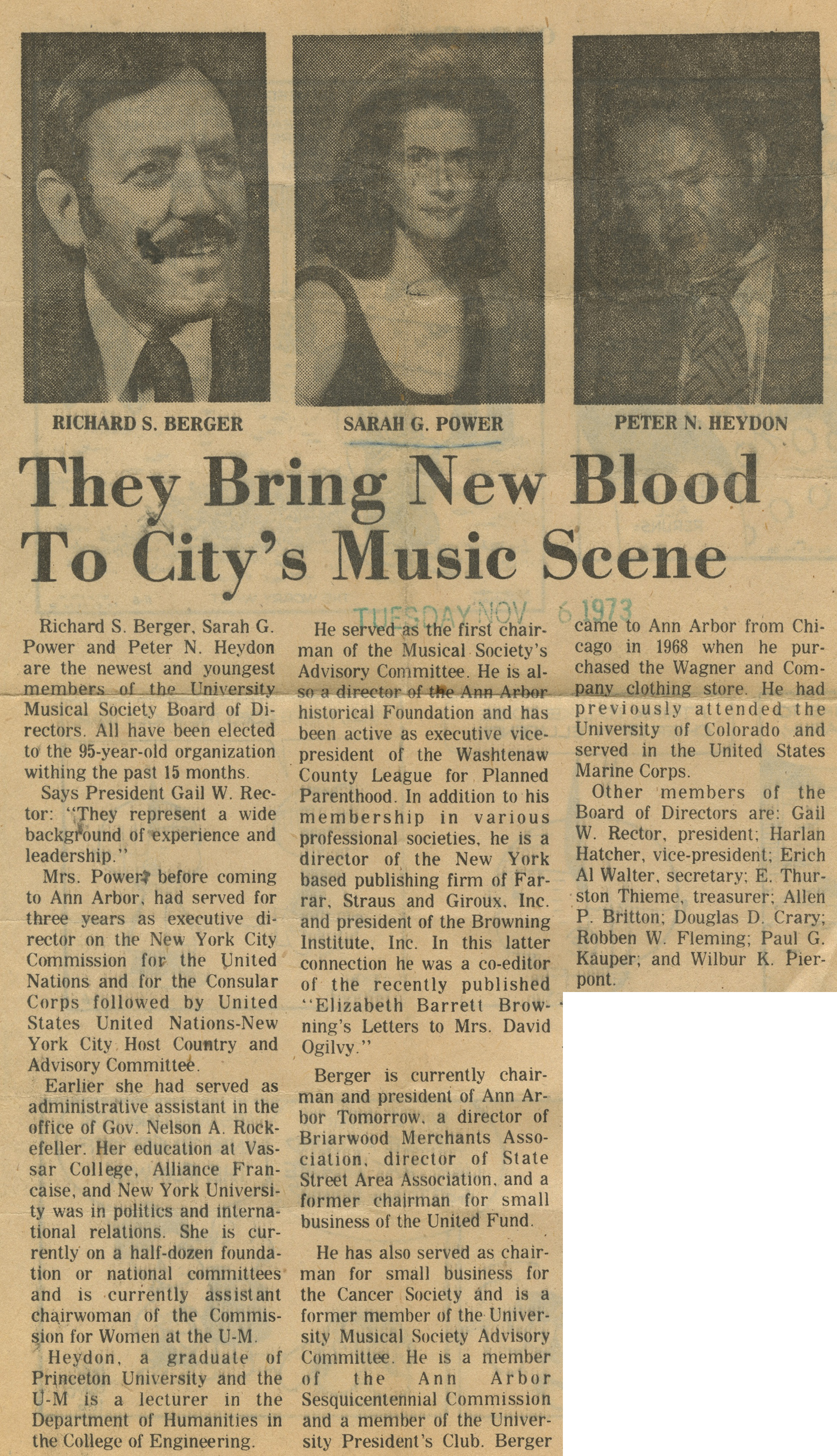 They Bring New Blood To The City's Music Scene image