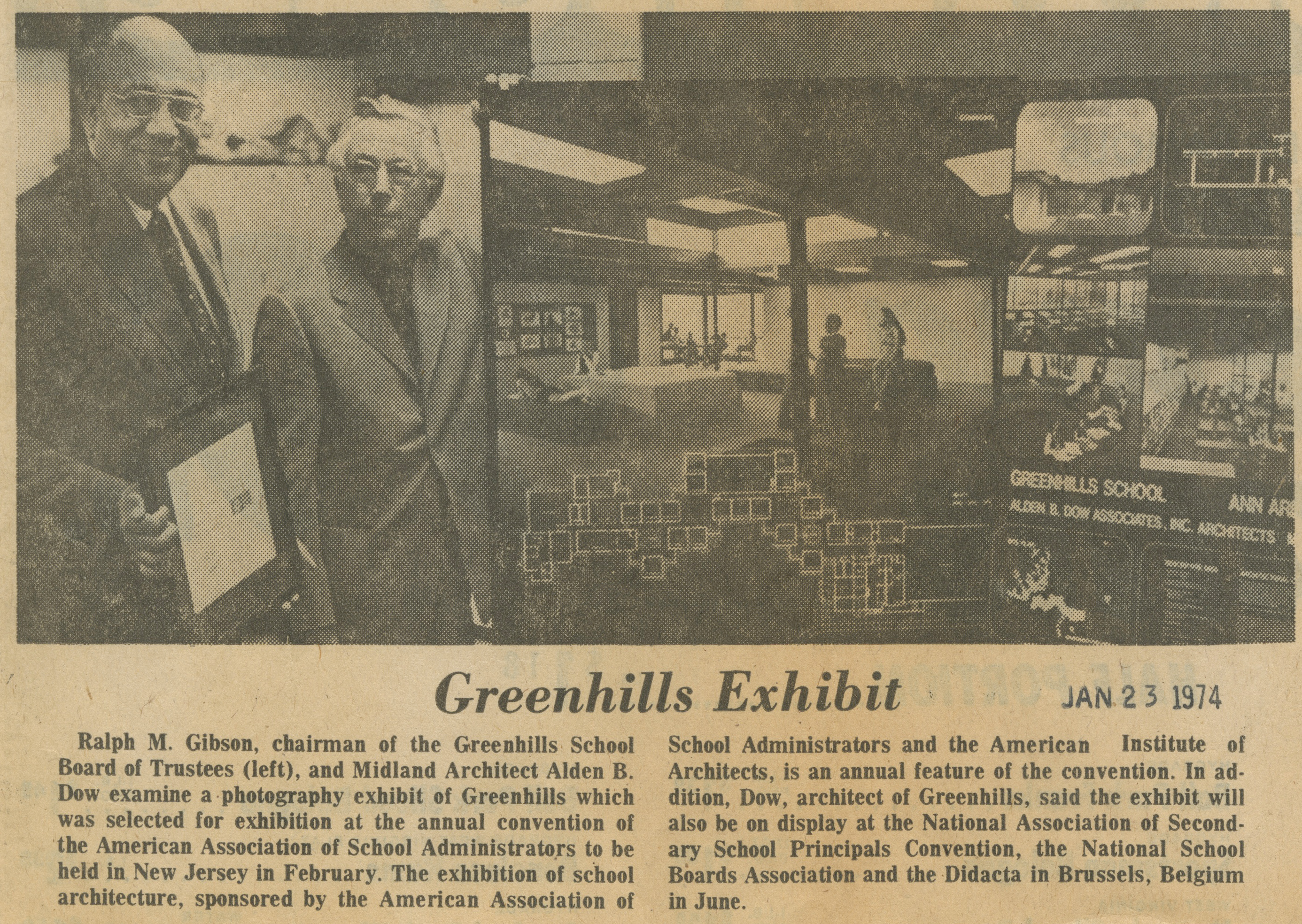 Greenhills Exhibit image