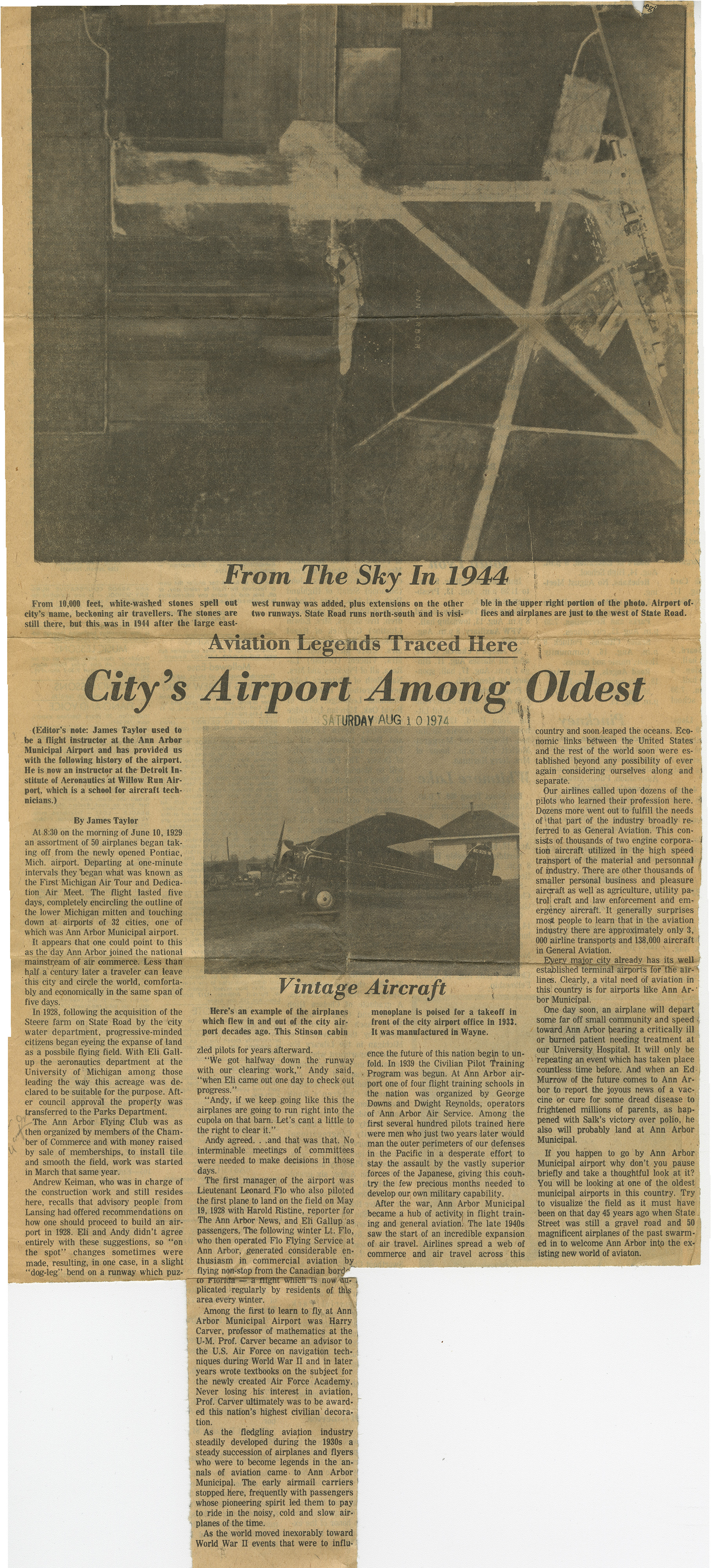City's Airport Among Oldest image