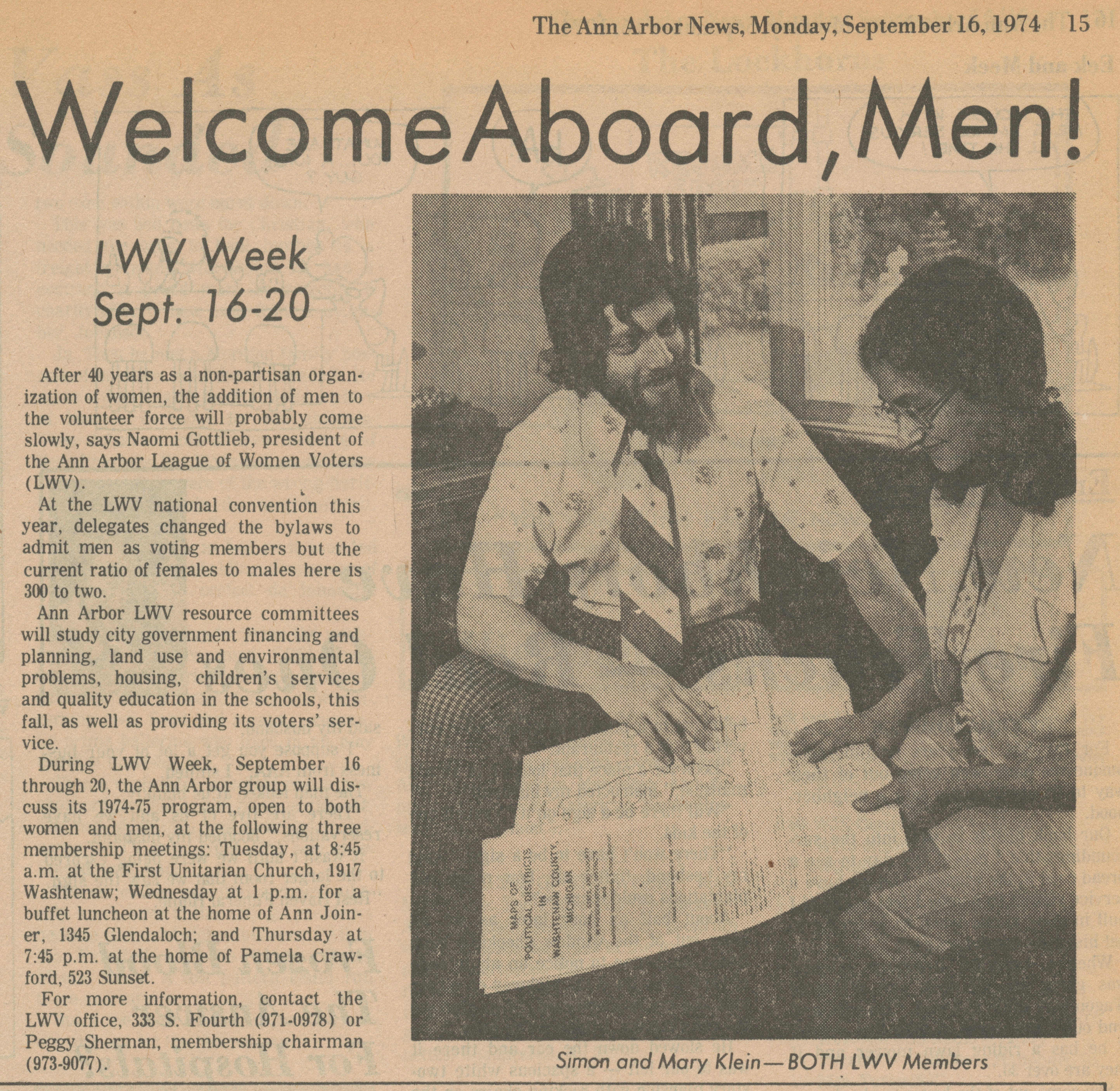 Welcome Aboard, Men! image