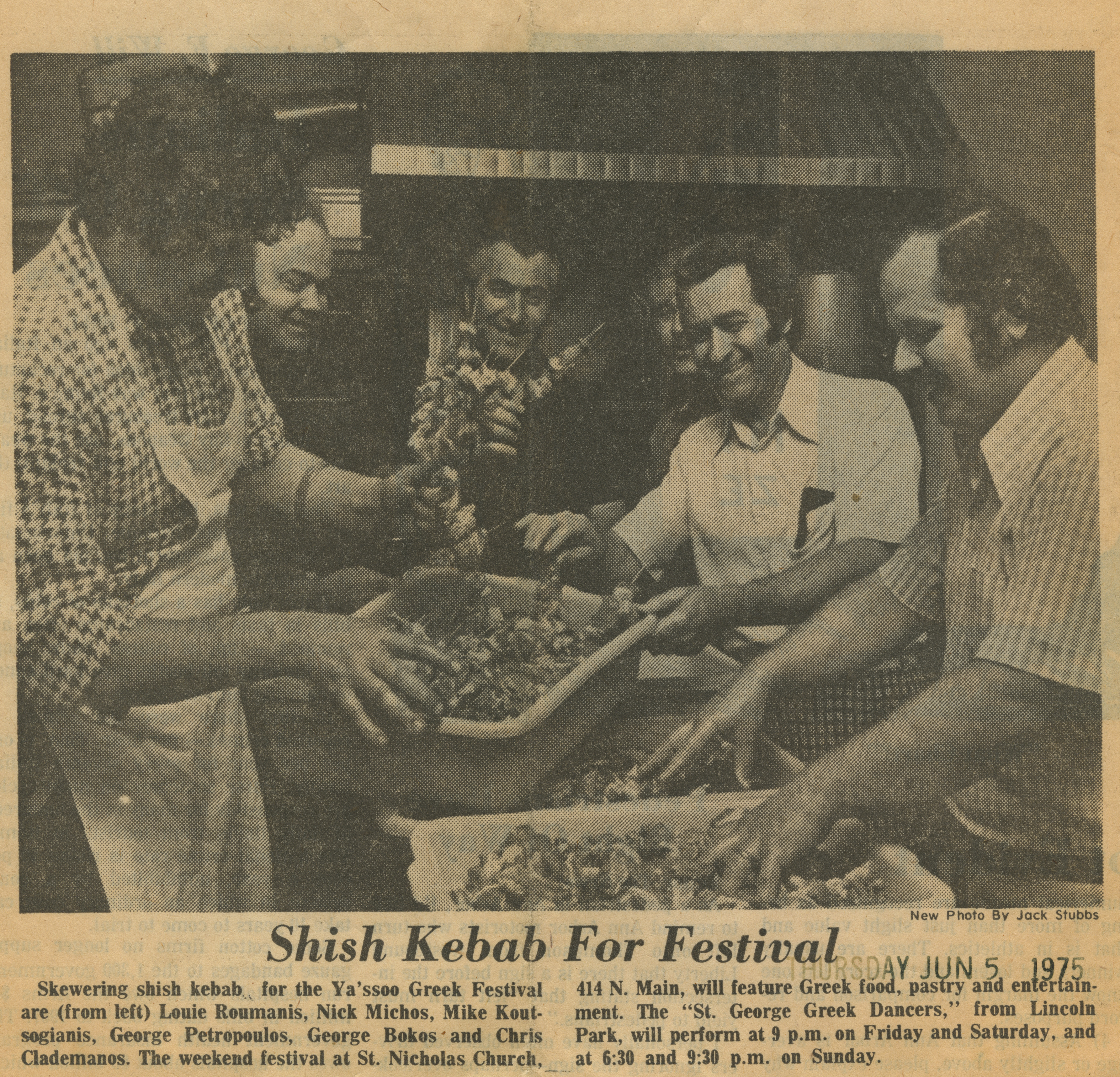 Shish Kebab For Festival image