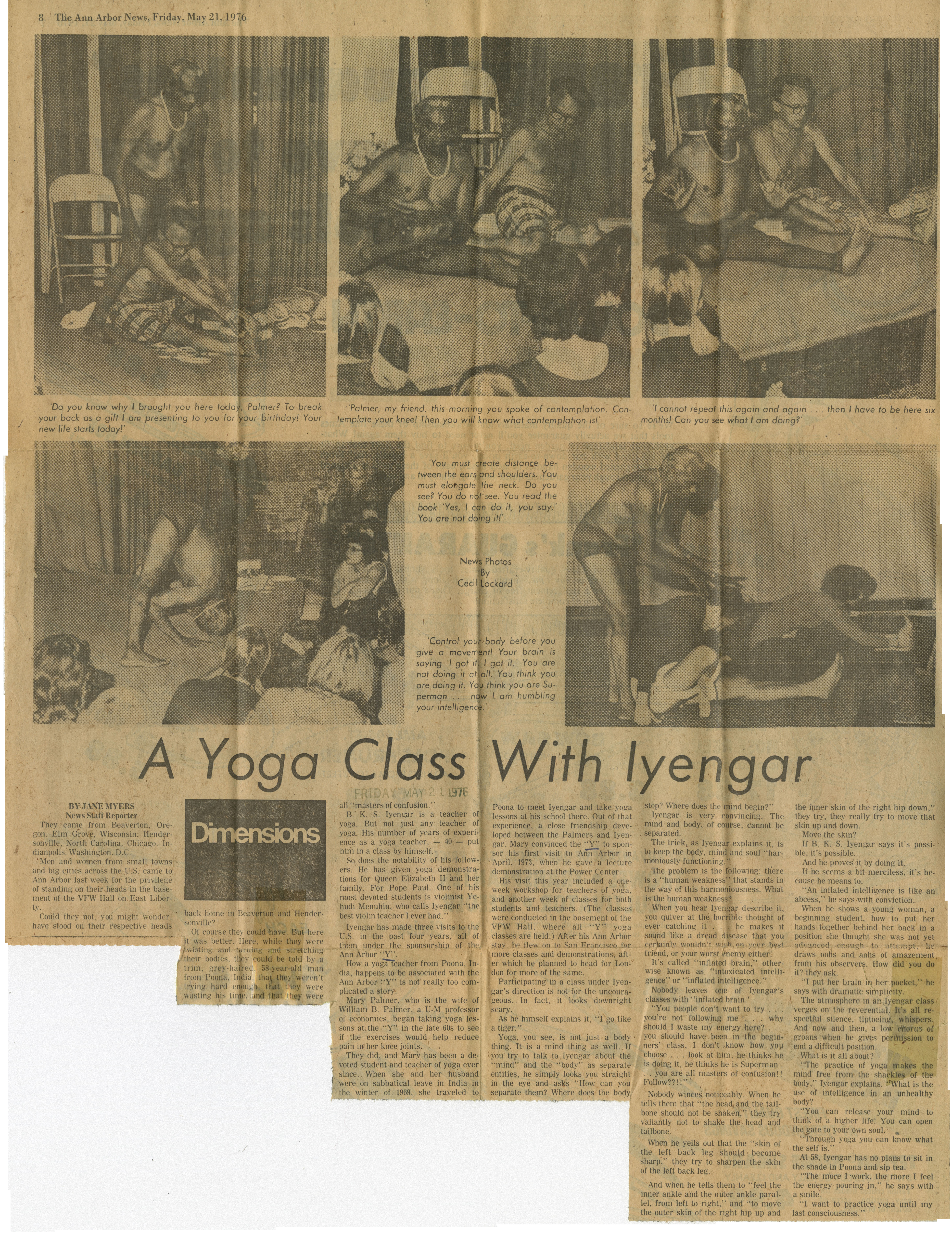 a yoga class with iyengar image