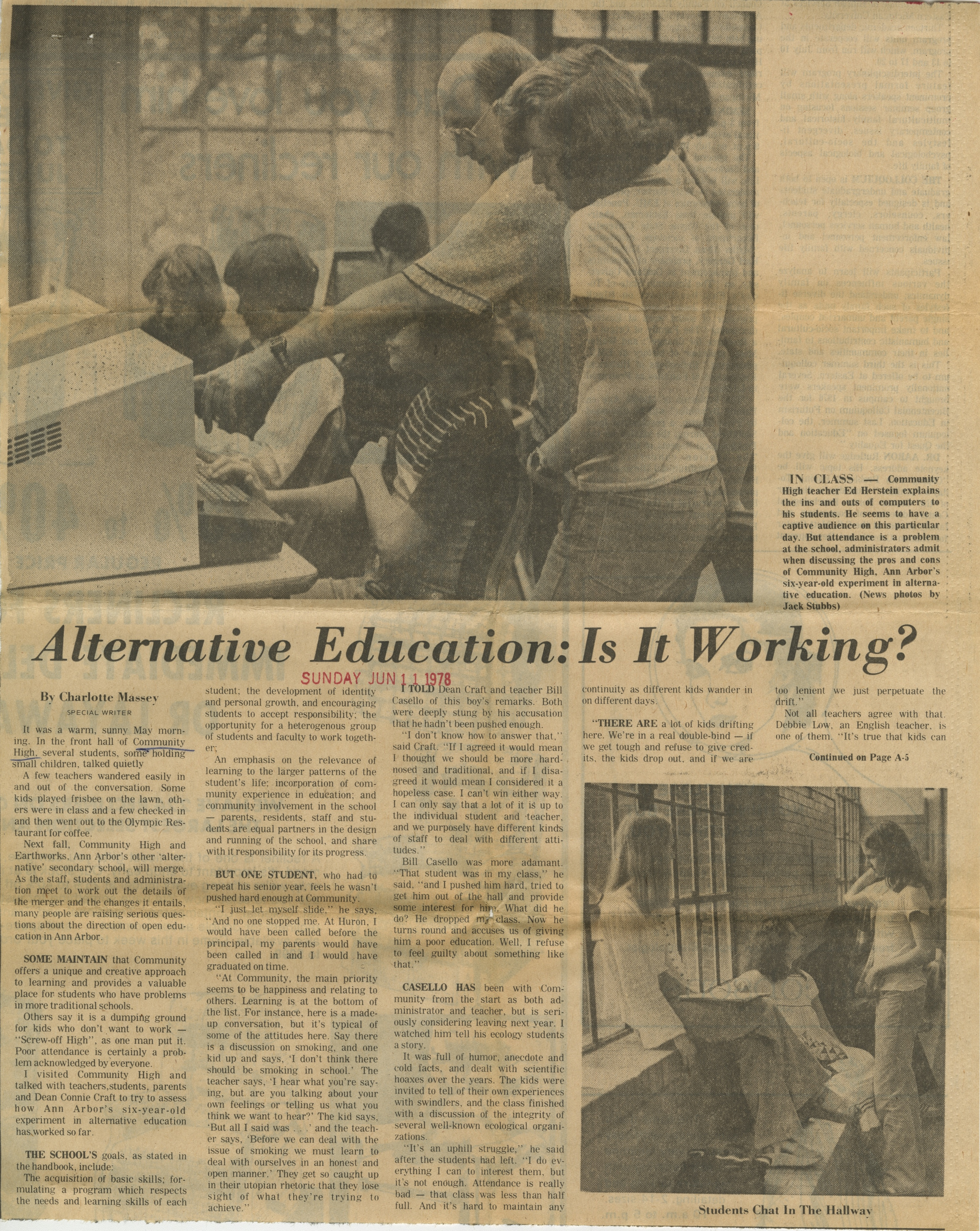 Alternative Education: Is It Working? image