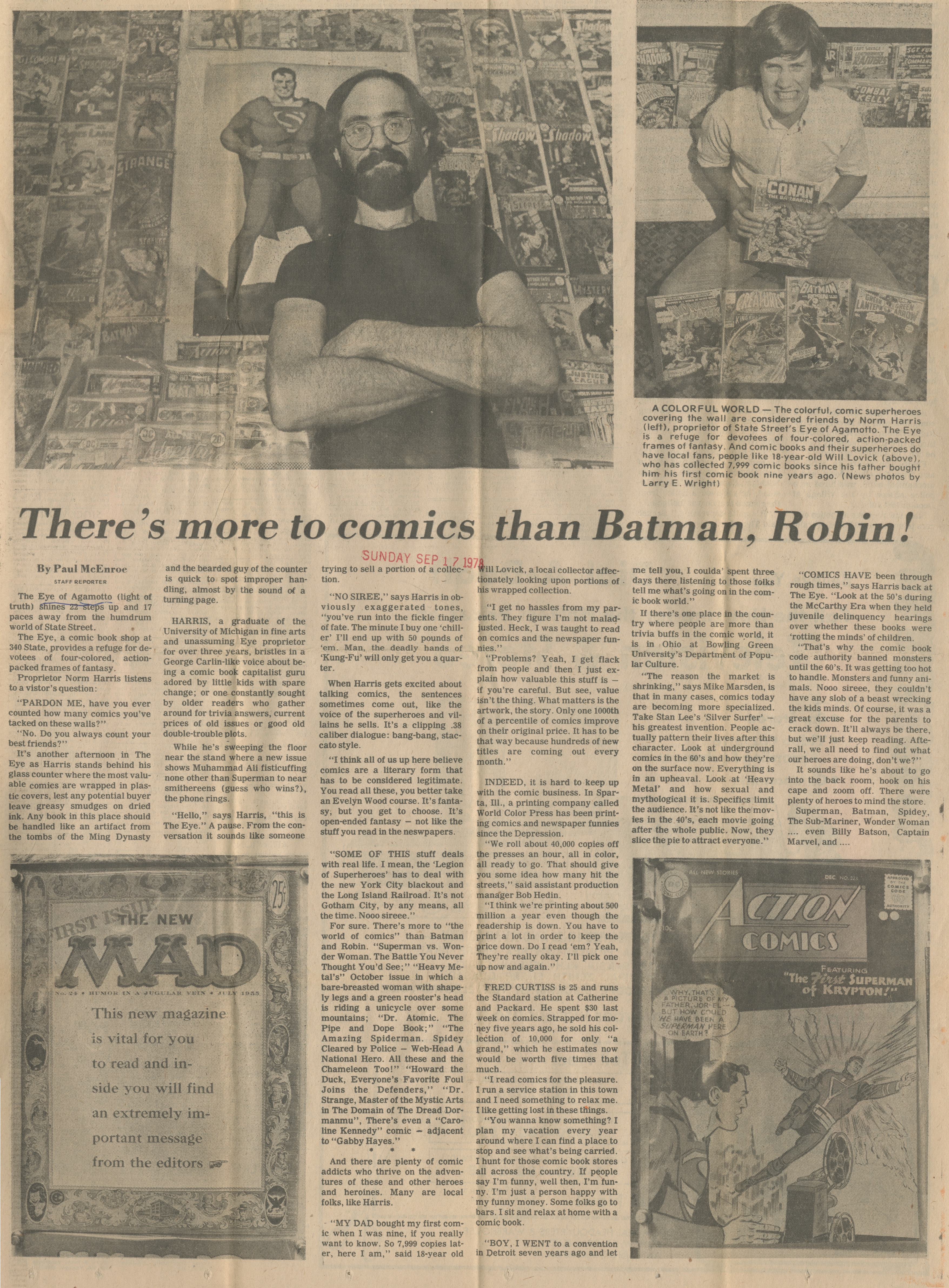 There's more to comics than Batman, Robin! image