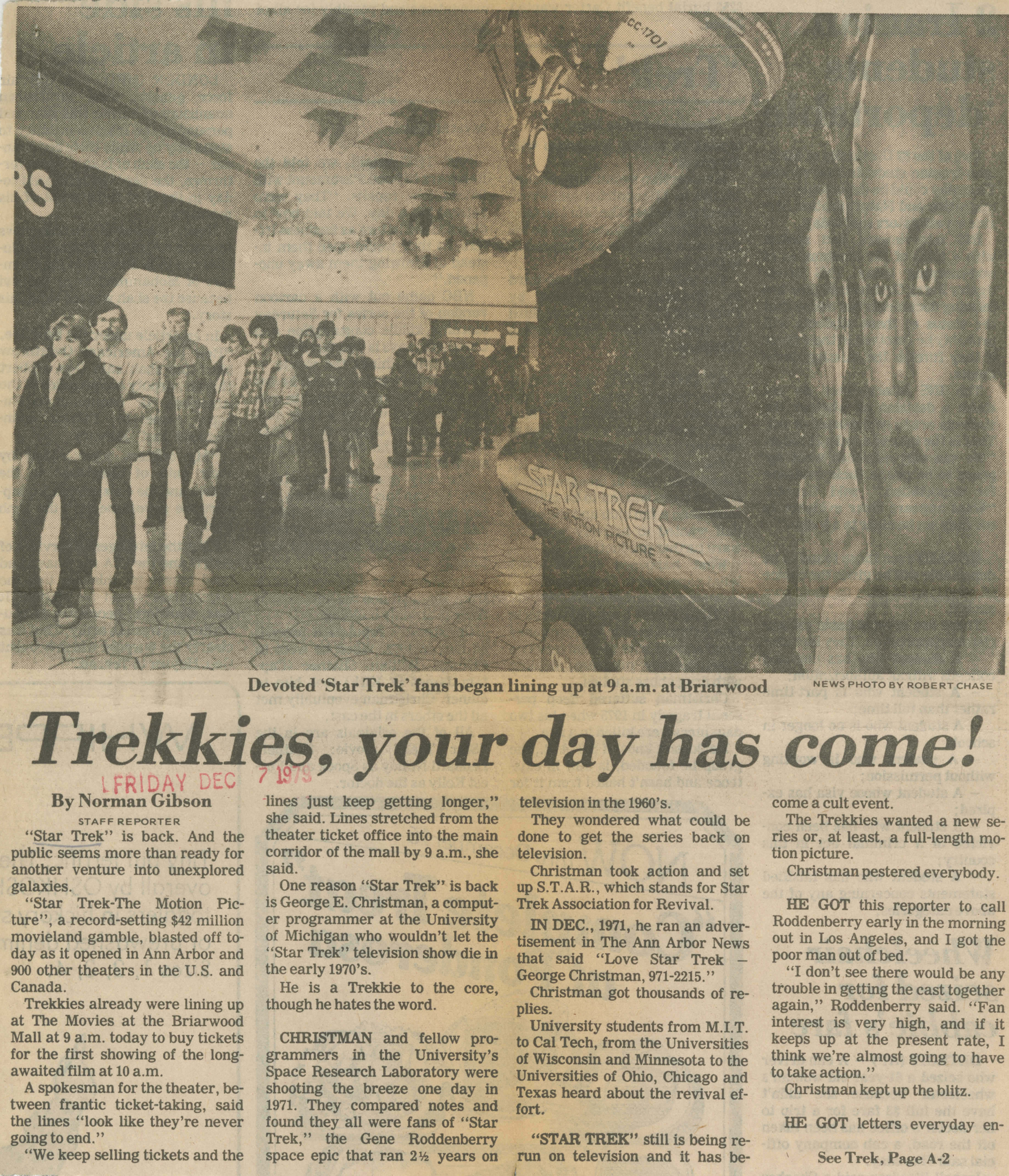 Trekkies, Your Day Has Come! image