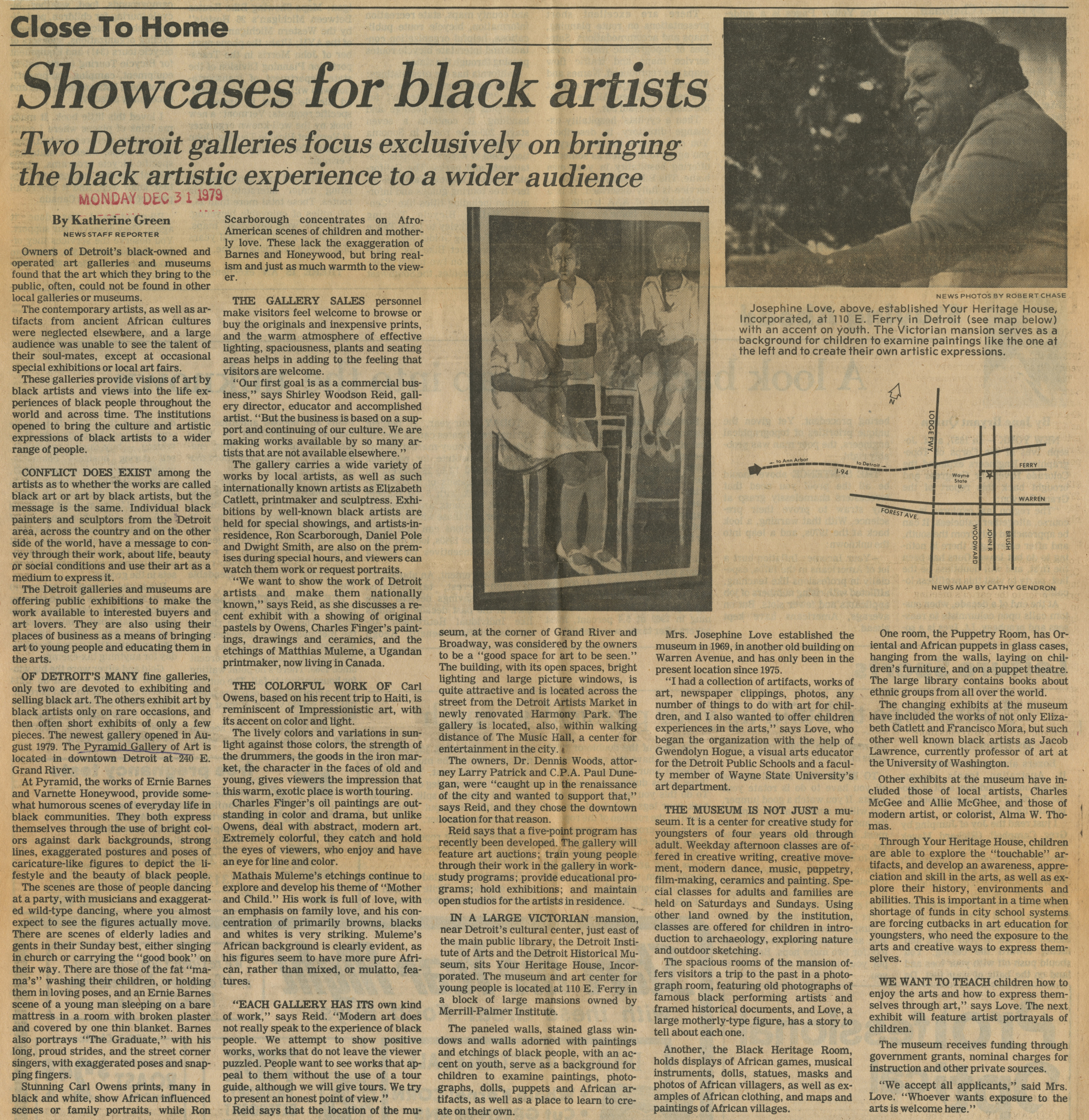 Showcases For Black Artists image
