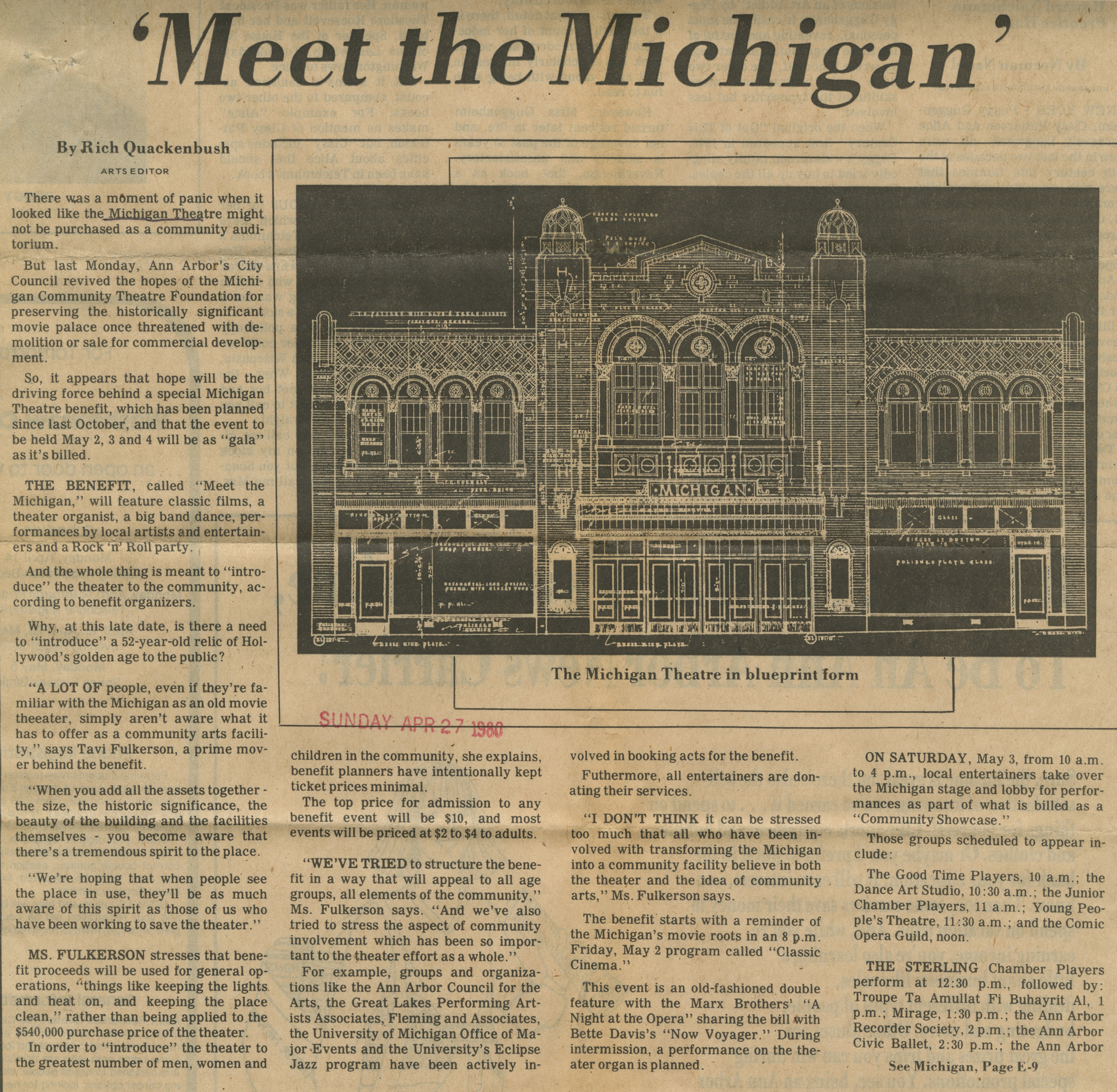 'Meet The Michigan' image
