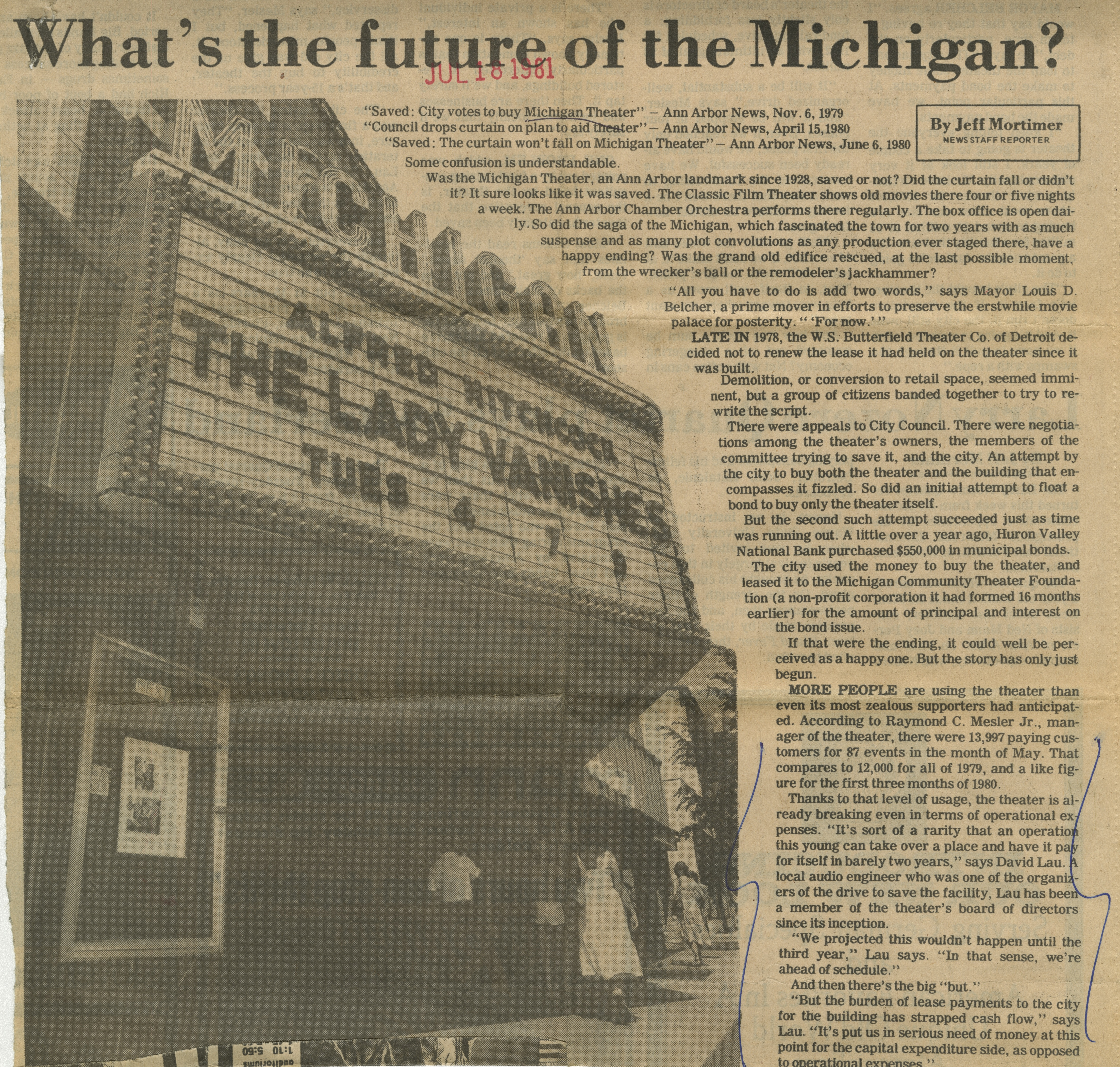 What's the Future of the Michigan? image