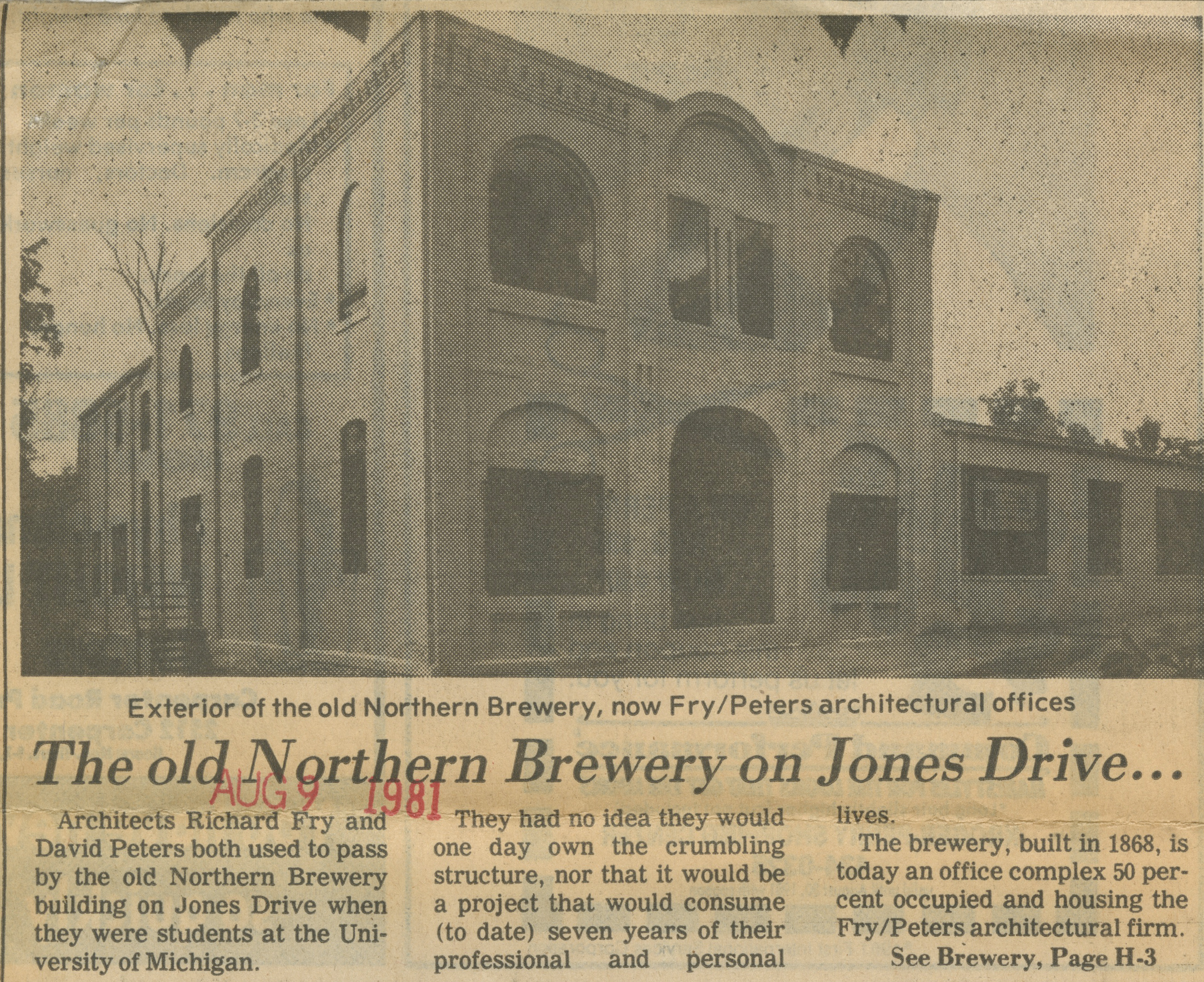 The Old Northern Brewery On Jones Drive image