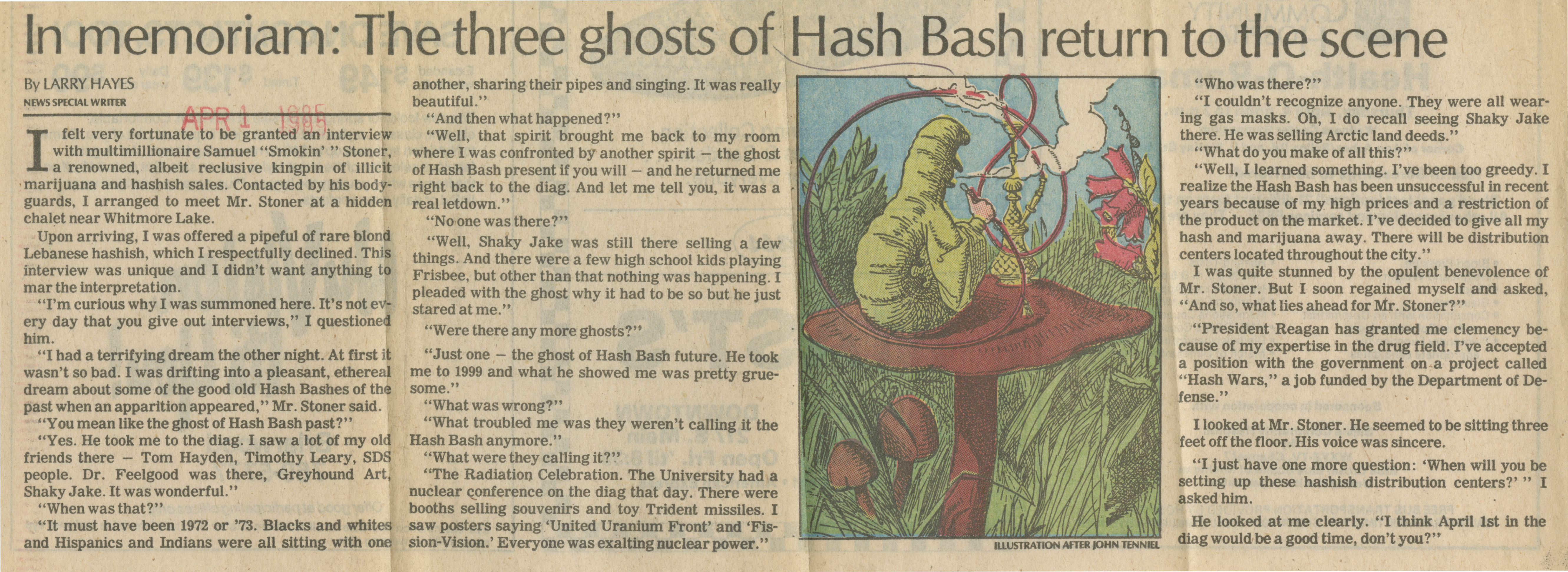 In Memoriam: The Three Ghosts Of Hash Bash Return To The Scene image