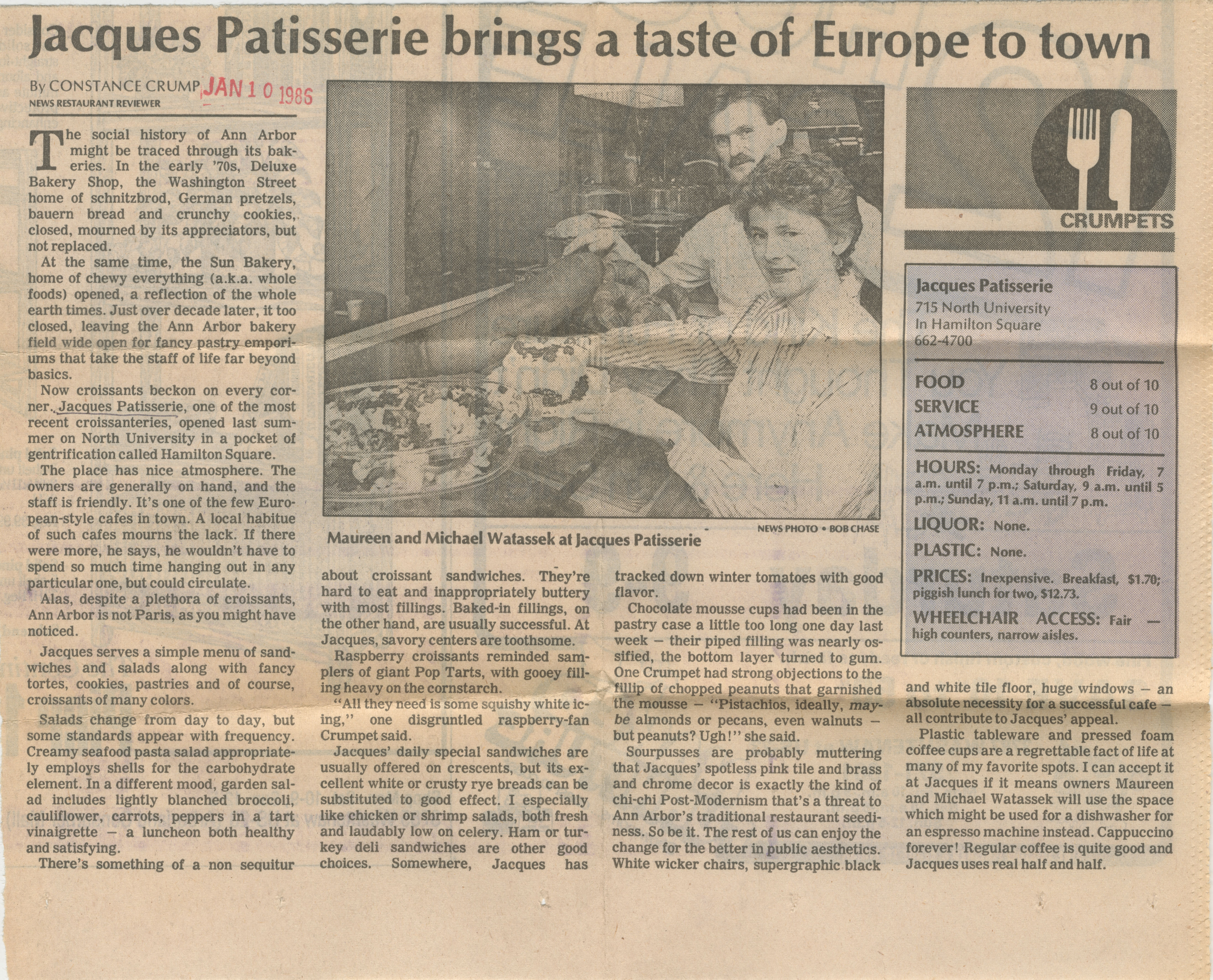 Jacques Patisserie Brings A Taste Of Europe To Town image