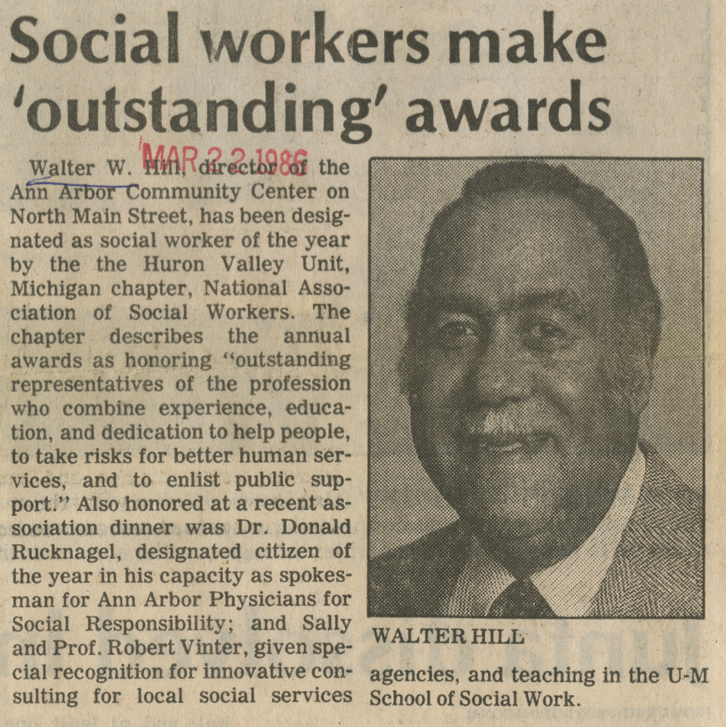 Social workers make 'outstanding' awards image