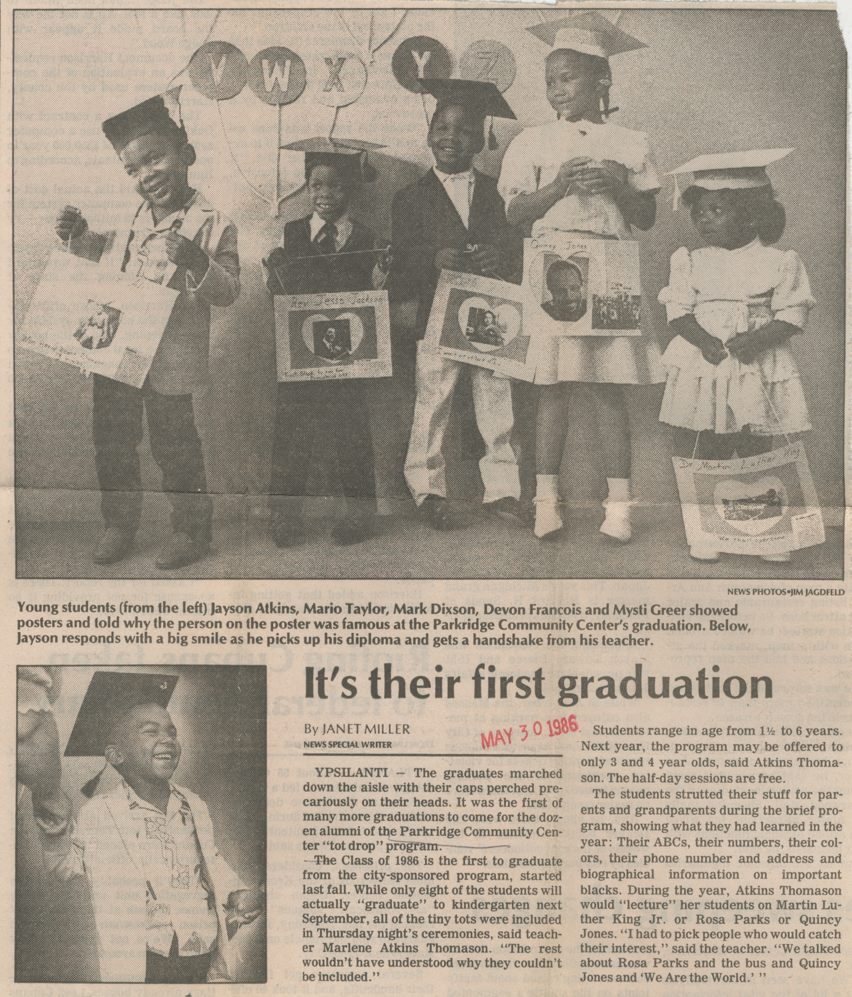 It's Their First Graduation image
