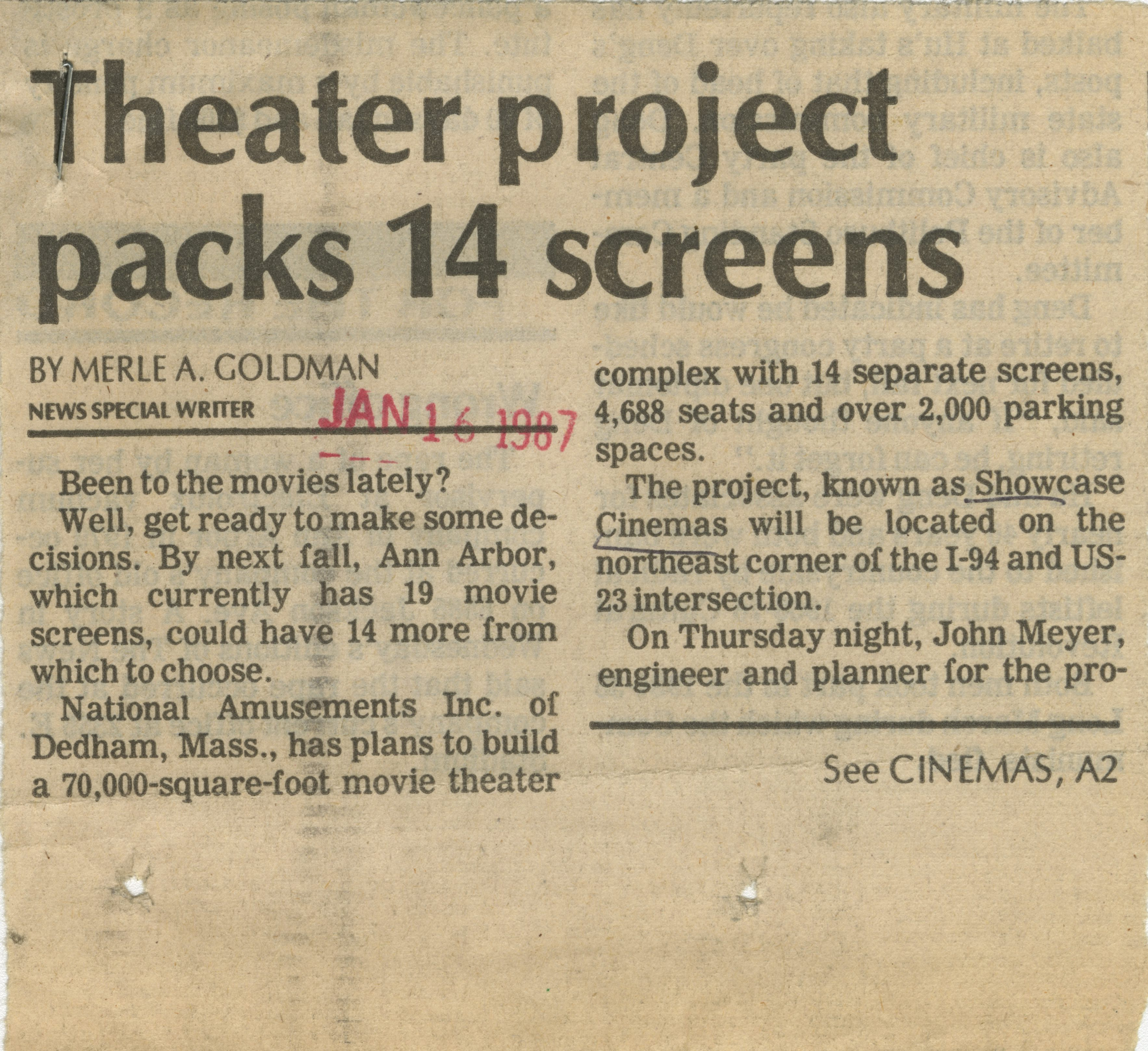 Theater Project Packs 14 Screens image
