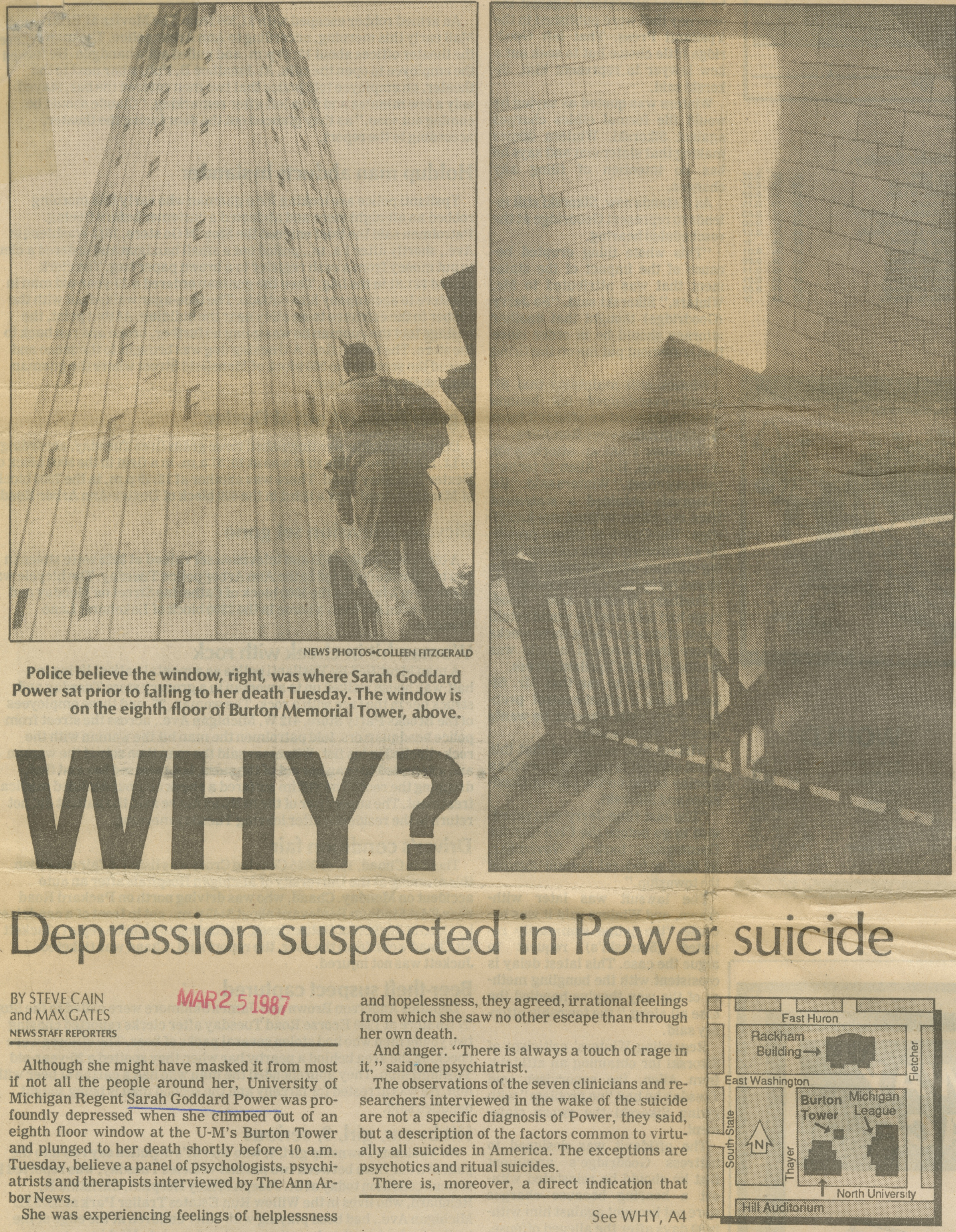 Why?  Depression Suspected In Power Suicide image