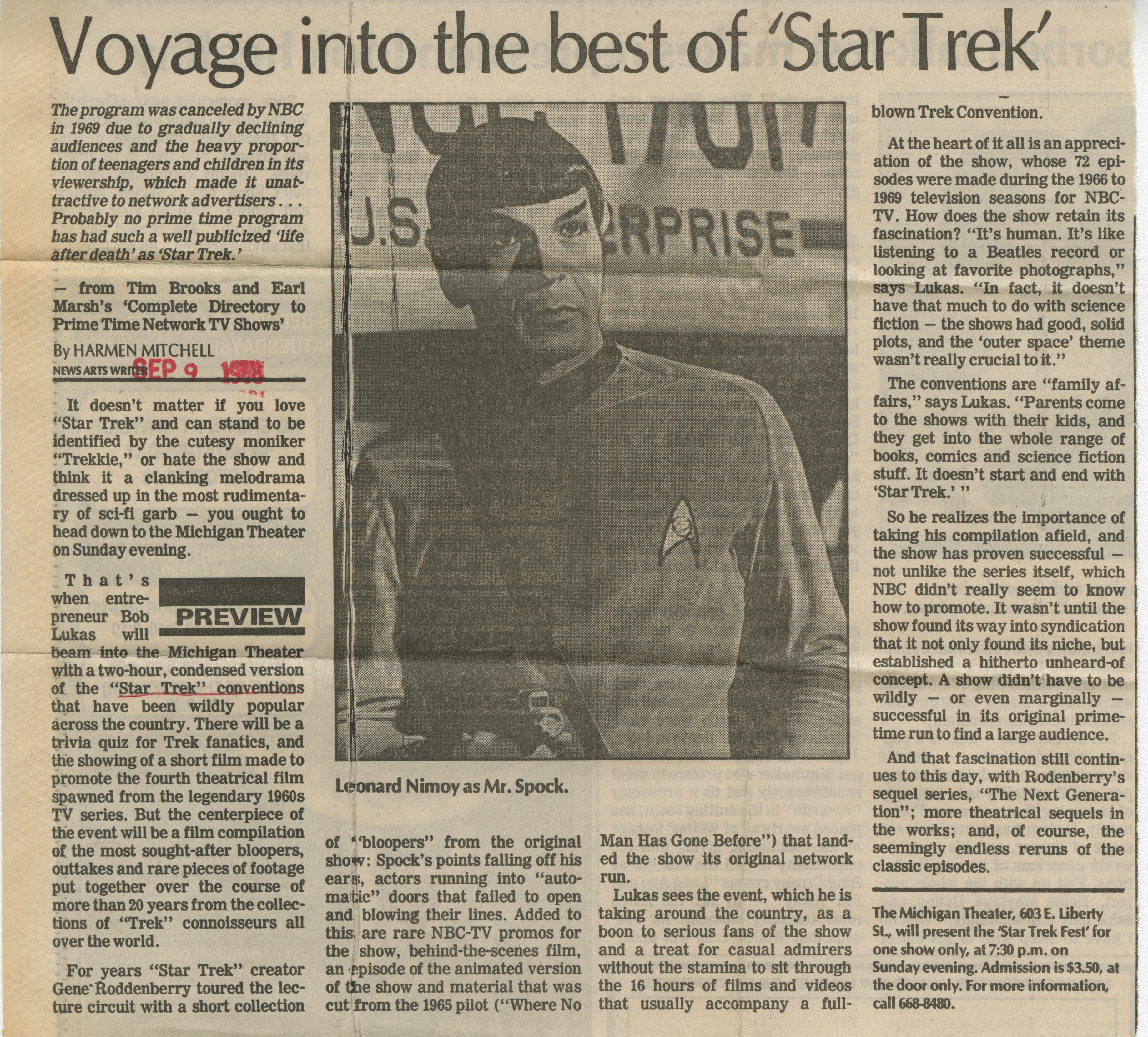 Voyage Into The Best Of 'Star Trek' image