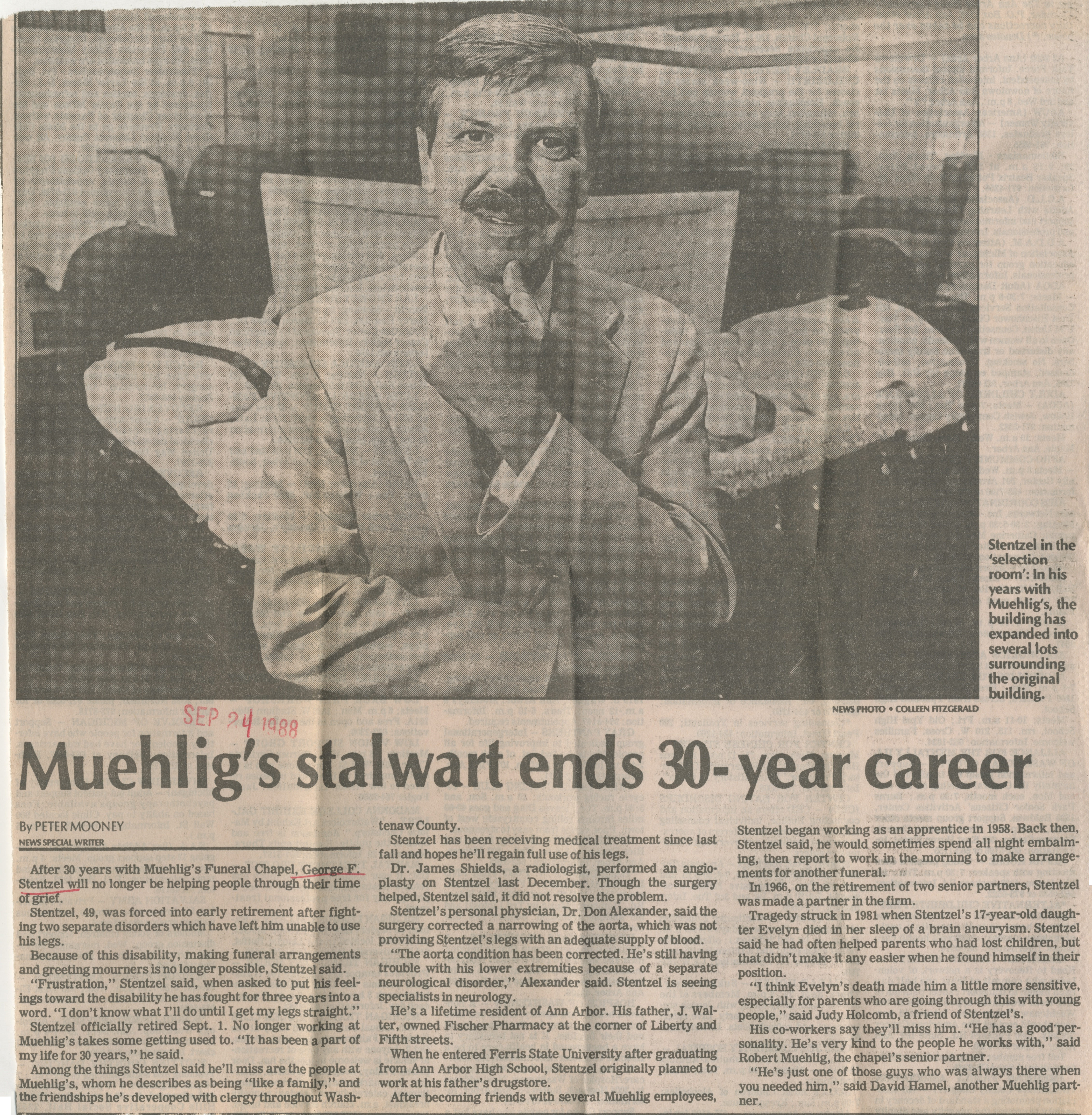 Muehlig's stalwart ends 30-year career image