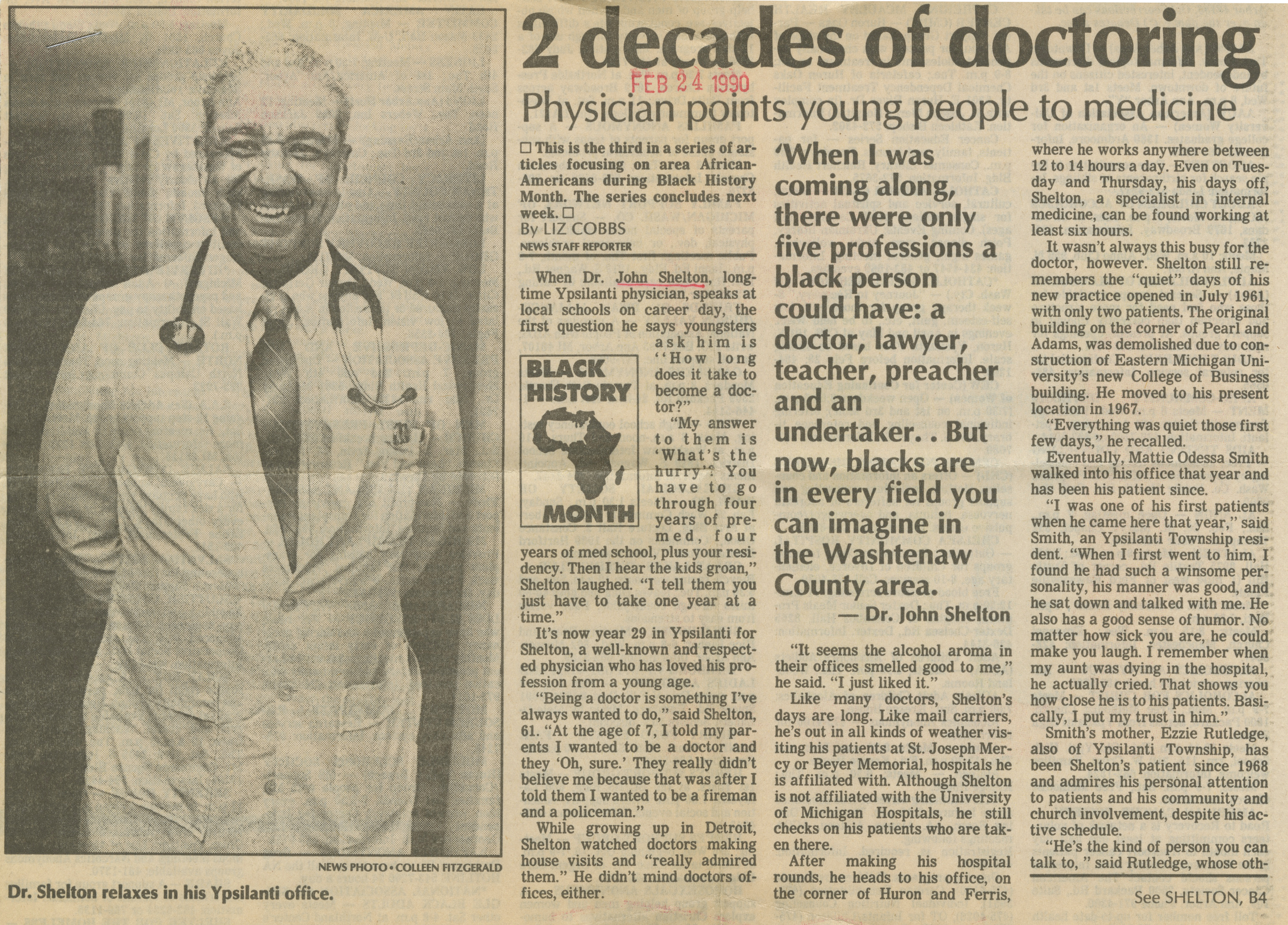 2 Decades Of Doctoring image