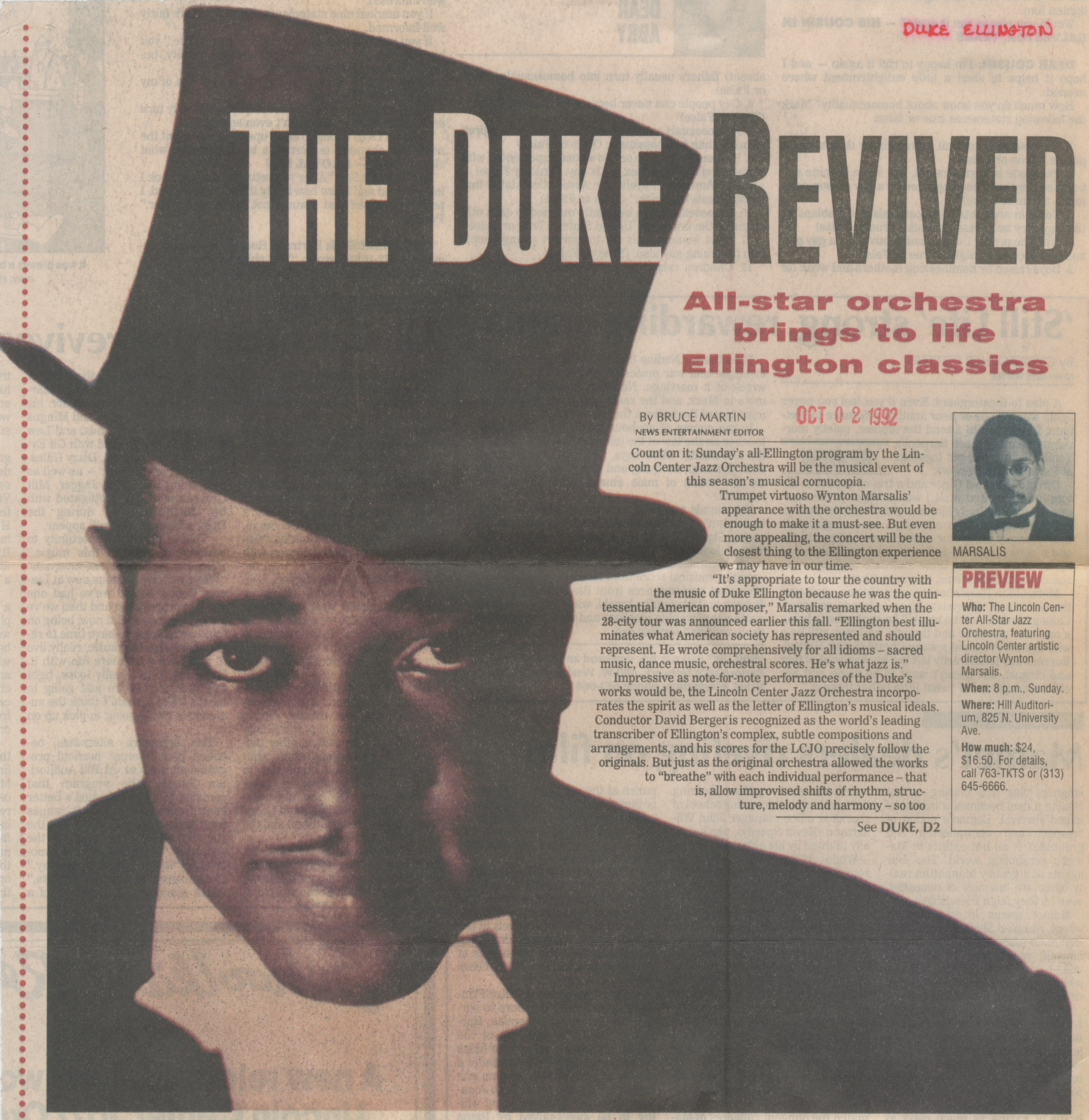 The Duke Revived image